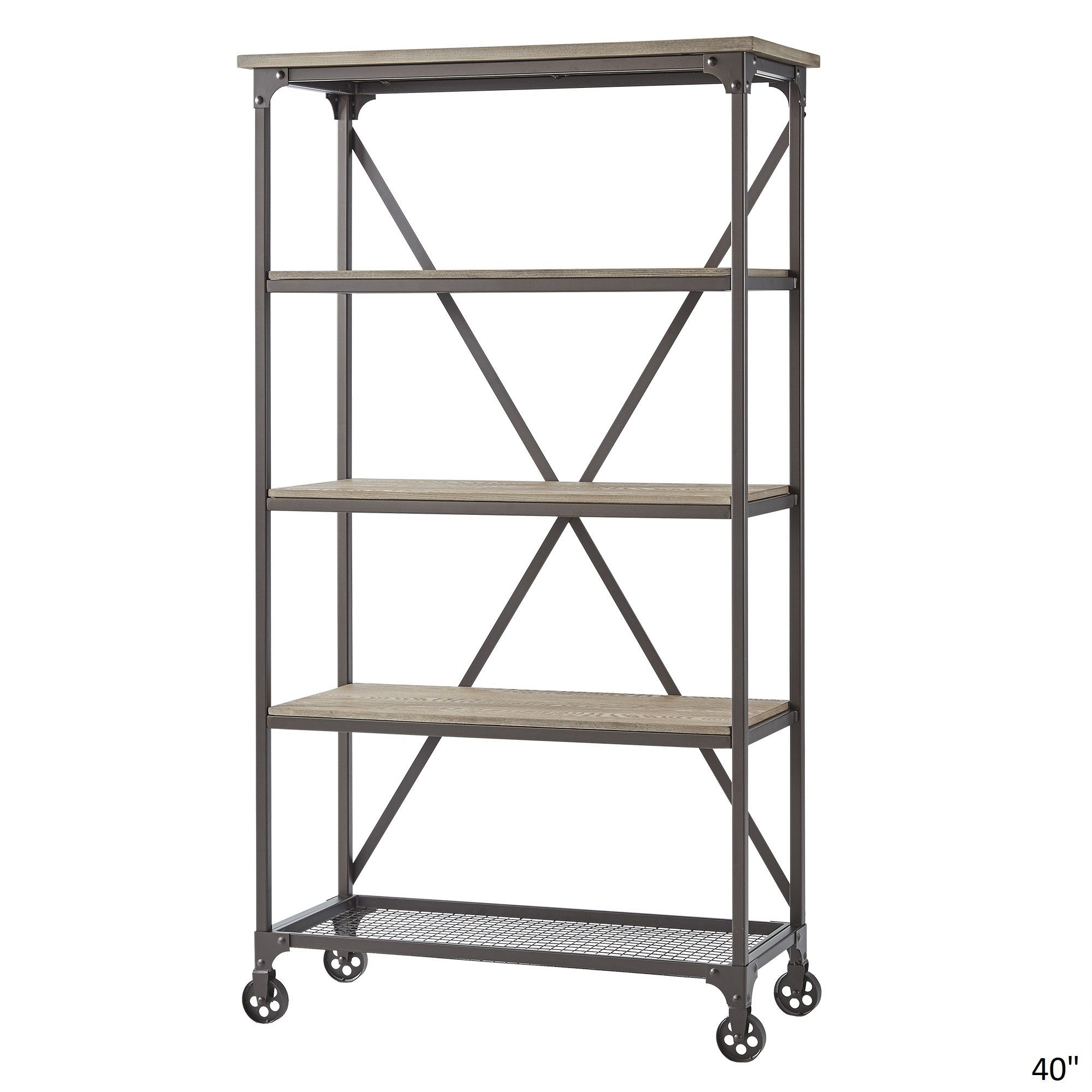Shop Dania Industrial Etagere Bookcase By INSPIRE Q Classic