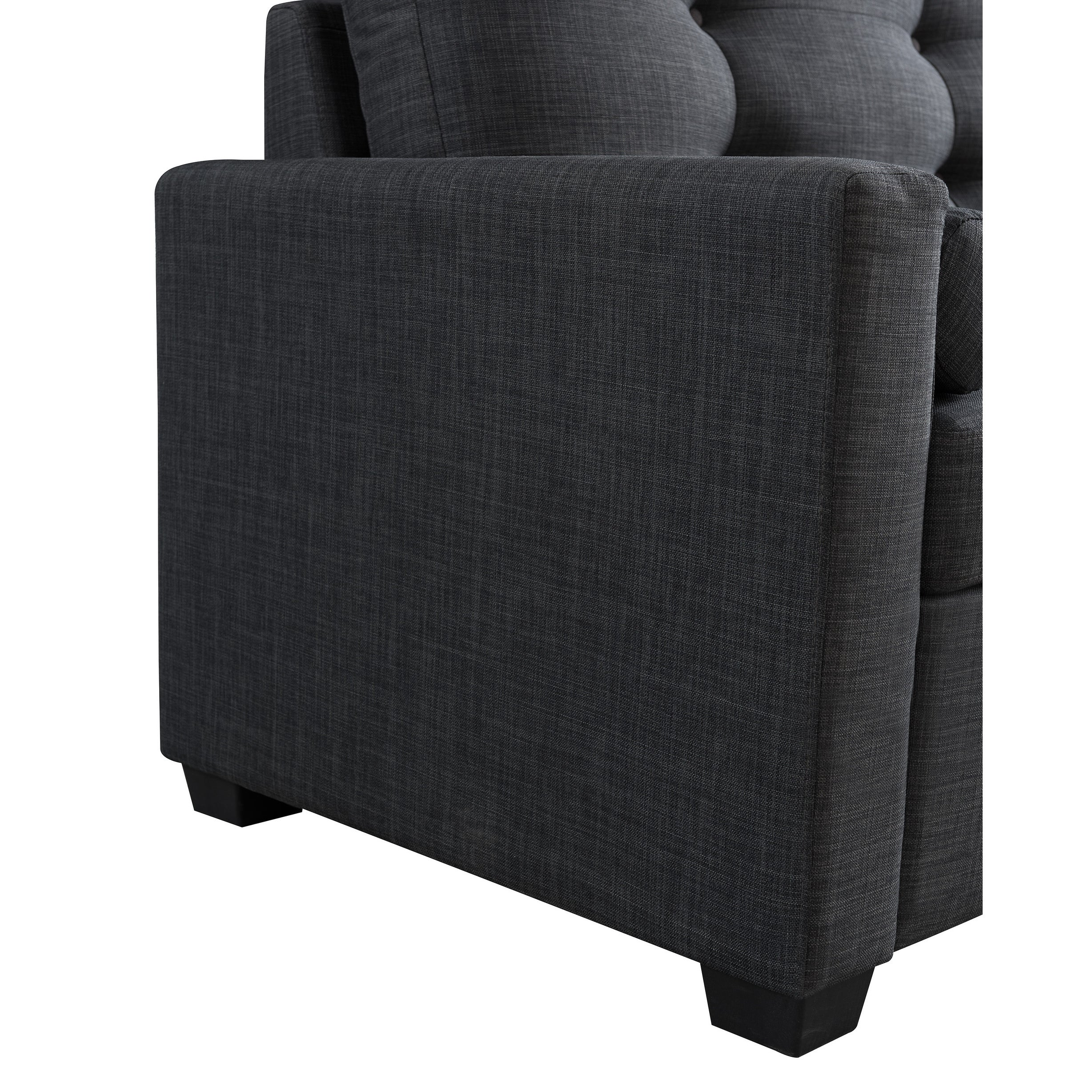 Shop Avesta Gray Tufted Twin Size Convertible Sleeper Chair - Free Shipping Today - Overstock.com - 19851968  sc 1 st  Overstock.com & Shop Avesta Gray Tufted Twin Size Convertible Sleeper Chair - Free ...