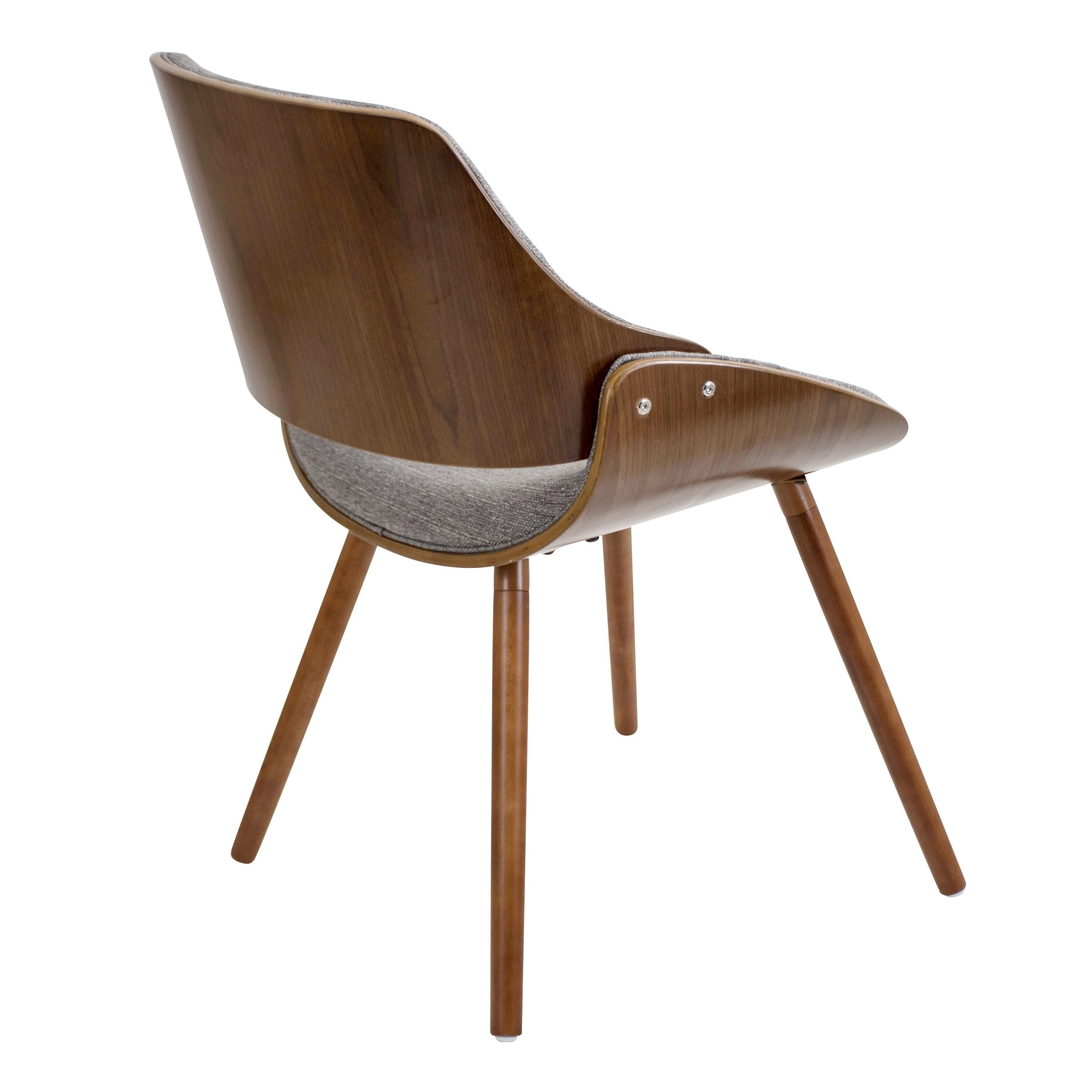 Shop carson carrington vanersborg walnut mid century modern chair on sale free shipping today overstock com 19856283