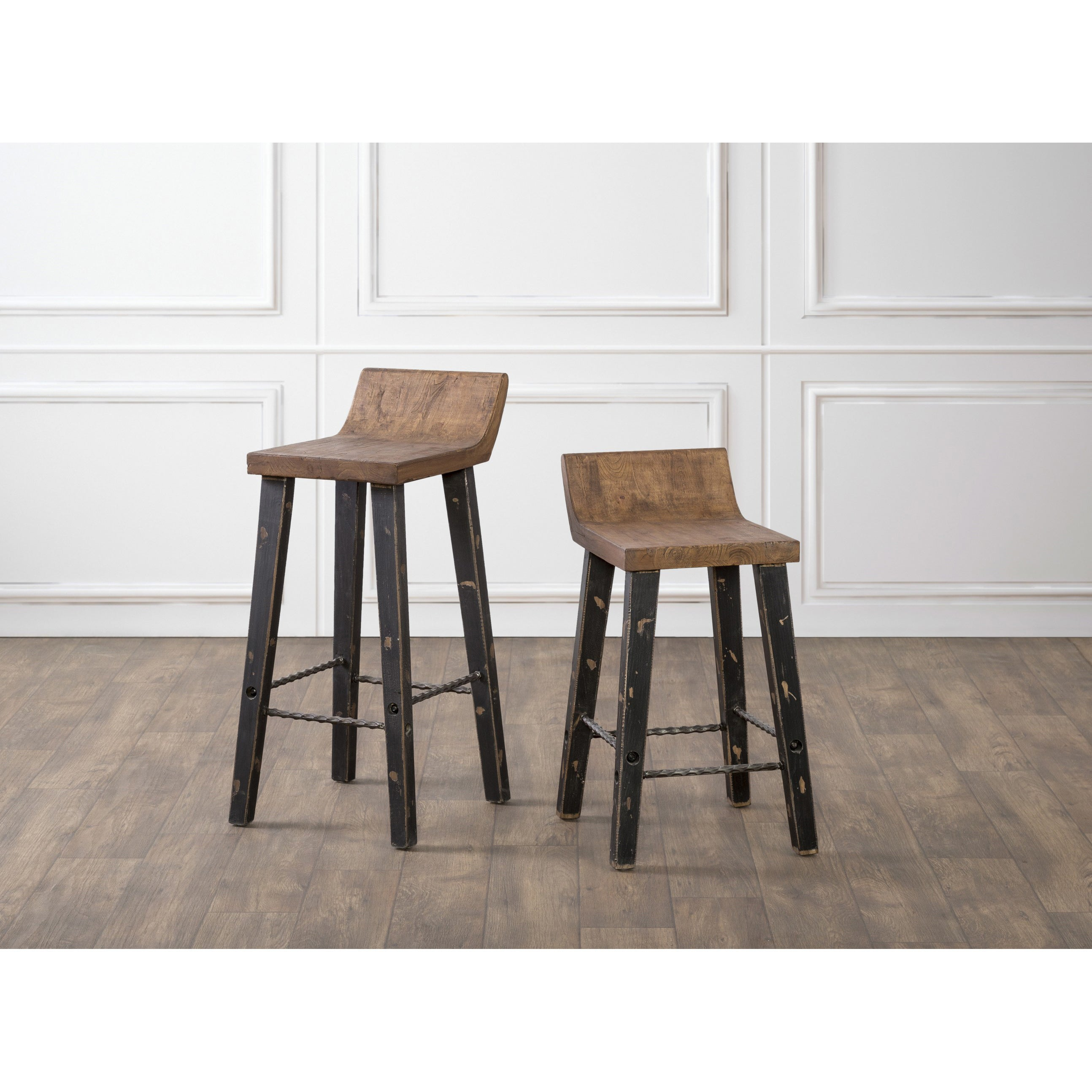 Shop the gray barn gold creek natural low back wood counter stool free shipping today overstock com 19856360