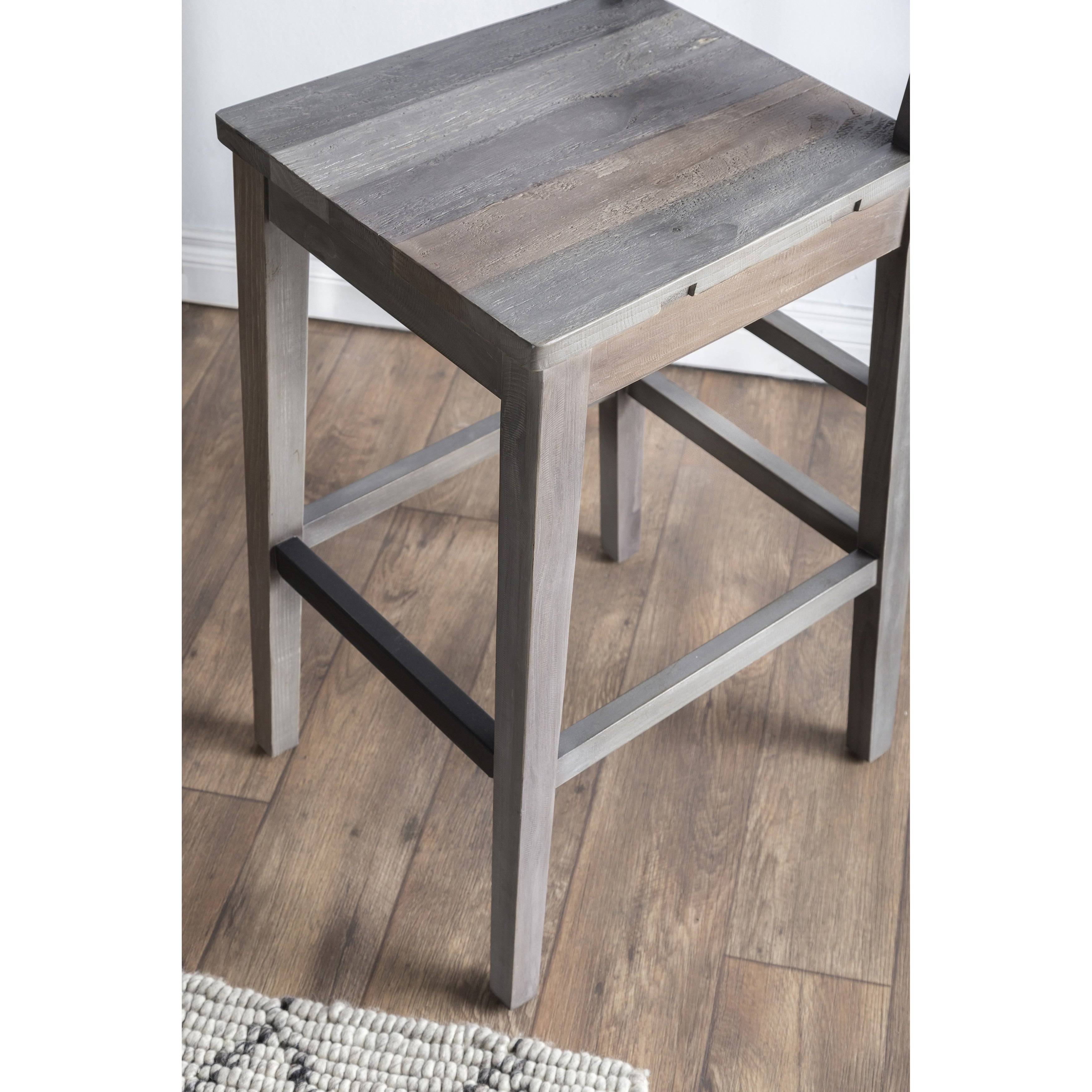 The Gray Barn Fairview Reclaimed Wood Counter Stool On Free Shipping Today 19856445