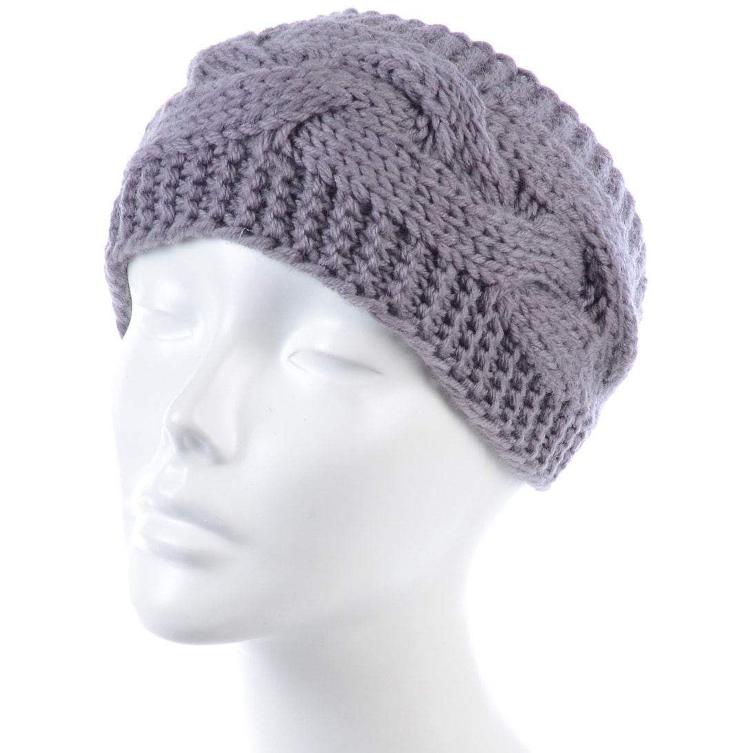 Shop Byos Womens Fashion Winter Cable Crochet Knit Headband With