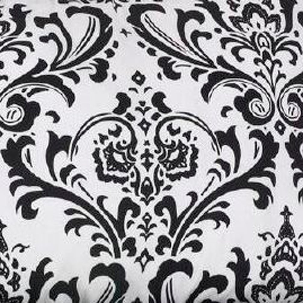 303f460b76b Shop Cotton Tale Girly Black and White Damask Reversible 8 PC Full-Queen  Quilt Bedding Set - Free Shipping Today - Overstock - 19875534