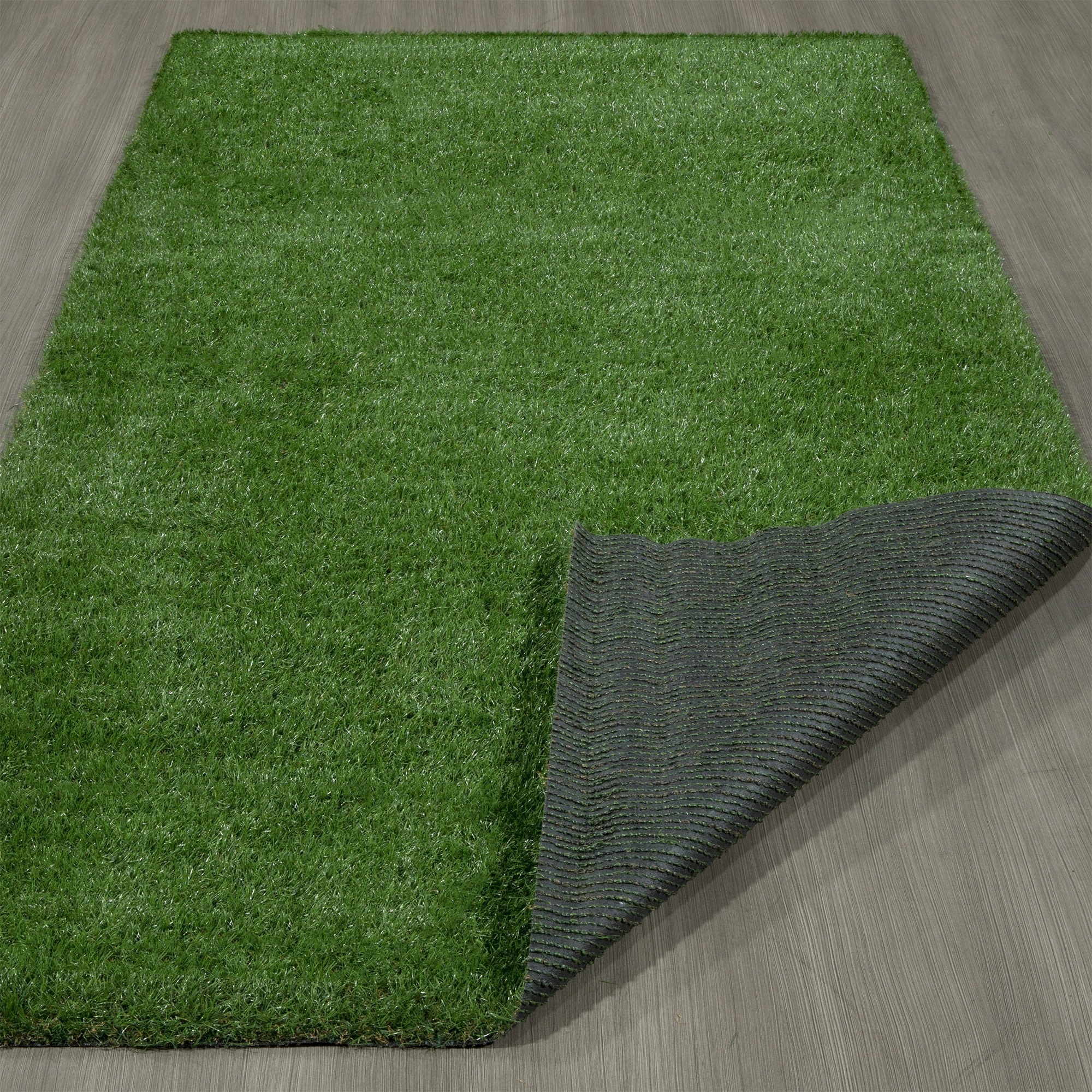 Garden Gr Indoor Outdoor Green Artificial Turf Area Rug 6 X 9 3 On Free Shipping Today 19885866