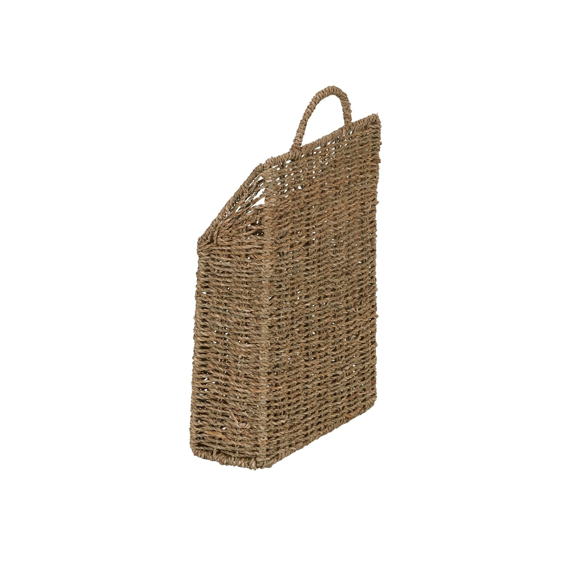 Shop Seagrass Wall Basket Set of 2 - Free Shipping On Orders Over ...