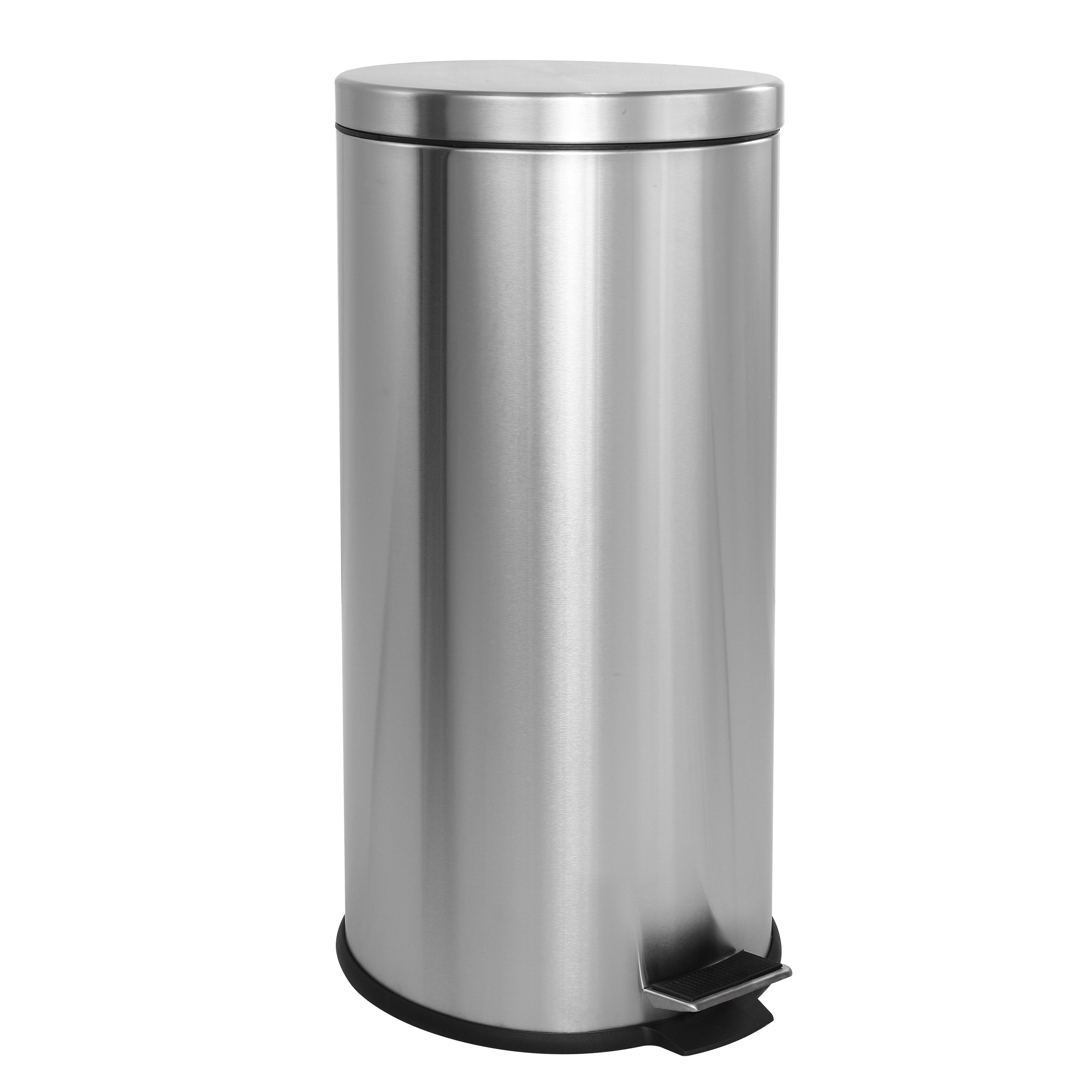 Shop Happimess Oscar 8 Gallon Step Open Trash Can With Free Mini