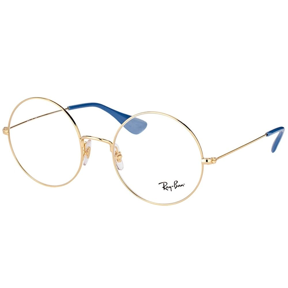 136c1fd683e59 Shop Ray-Ban Round RX 6392 JA-JO 2500 Unisex Gold Frame Eyeglasses - Free  Shipping Today - Overstock - 19892357