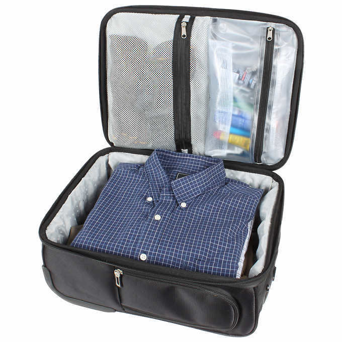 0662a229a90e Ful Pilot 15-inch Under-Seat Carry-On Rolling Suitcase