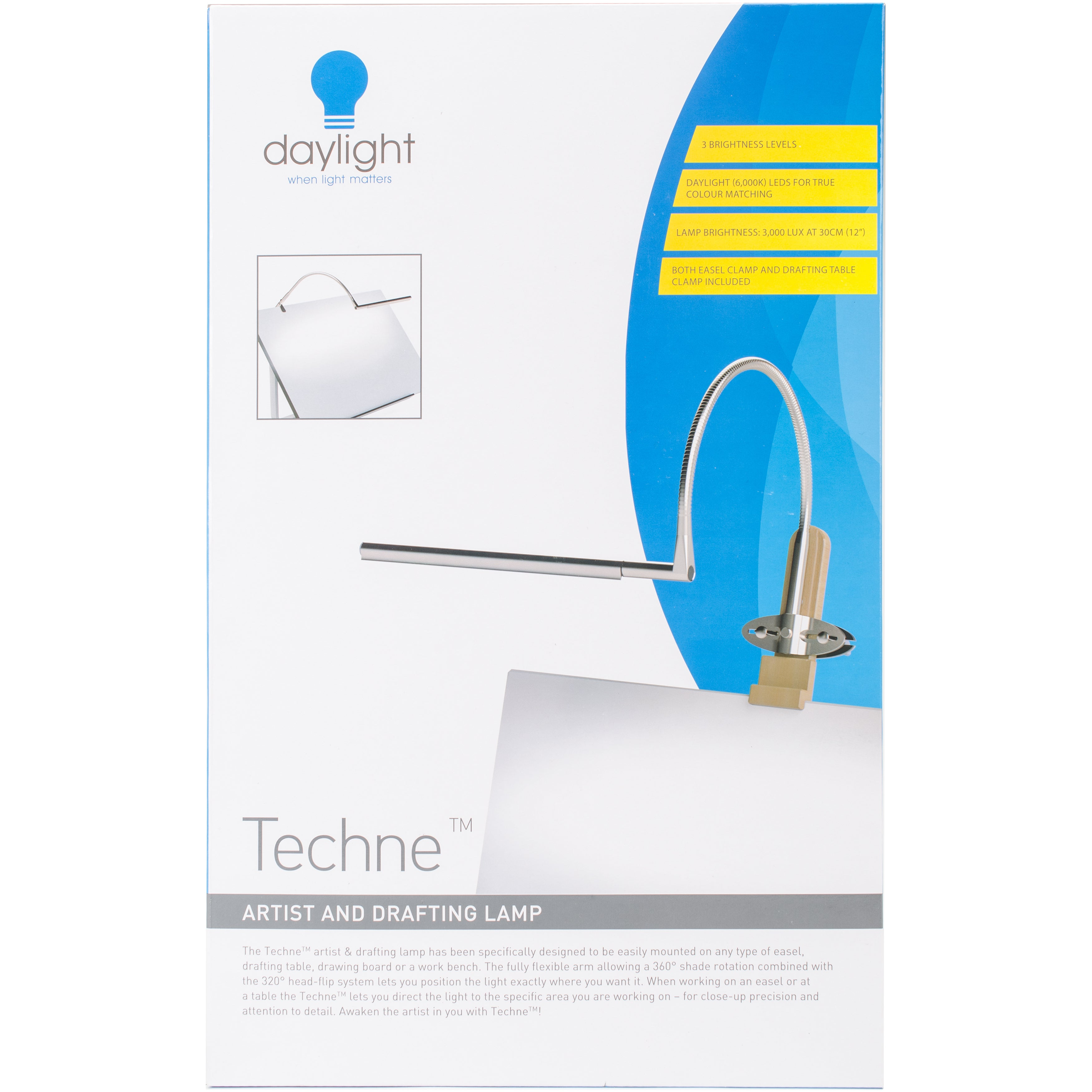 Shop Daylight Techne Artist Drafting Lamp Free Shipping Today
