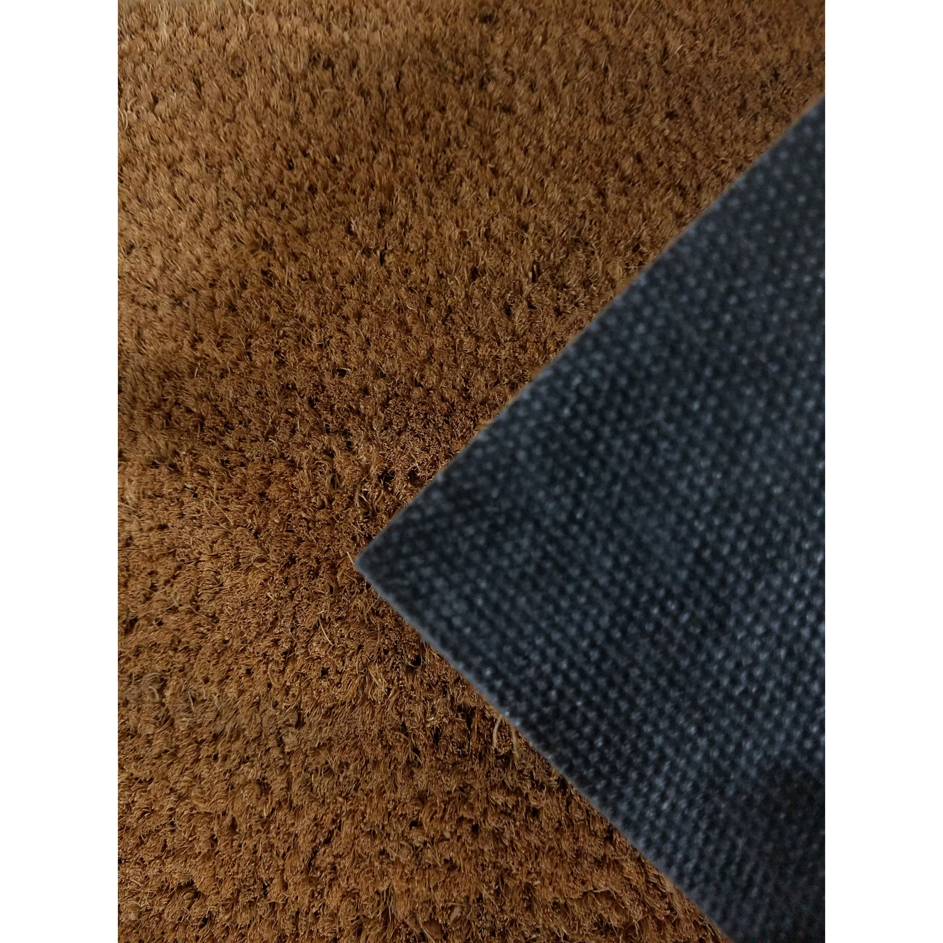 home overstock evideco garden front sheltered coir printed large mat shipping door inch orders bye hello over rug on product mats coco free fibers black