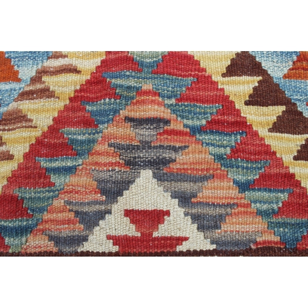Sangat Kilim Archie Rust Gold Rug Free Shipping Today Com 19969658