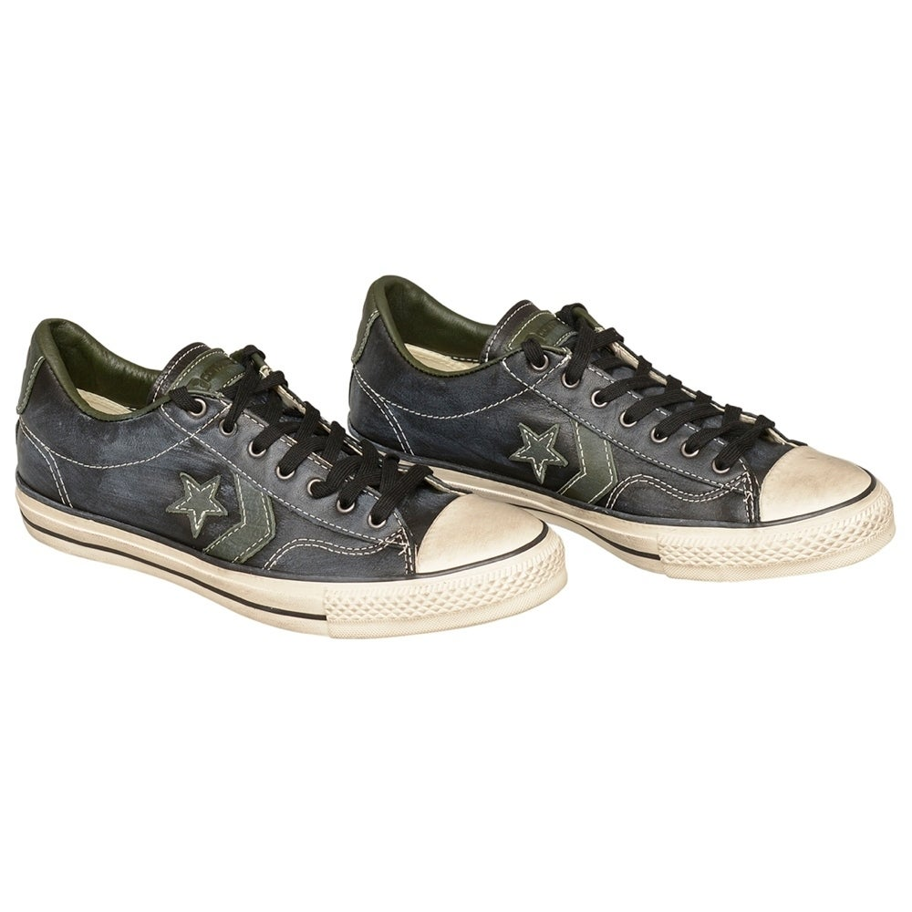 8841c0e95f31 Shop John Varvatos Converse All Star JV SP Ox Black Leather Sneakers Size 9  - Free Shipping Today - Overstock - 19972745