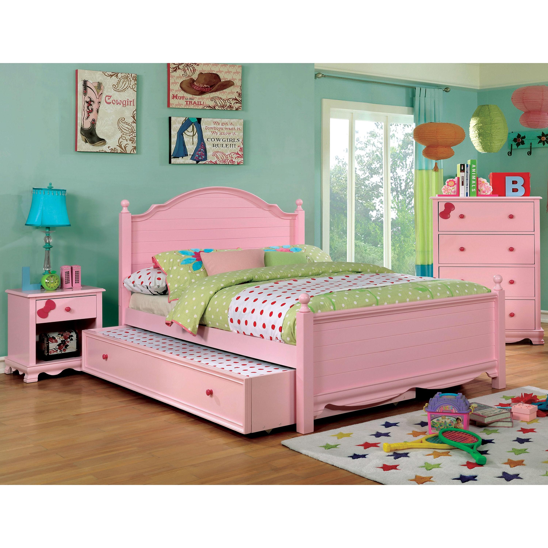 Shop Furniture Of America Matilda Transitional 2 Piece Youth Full