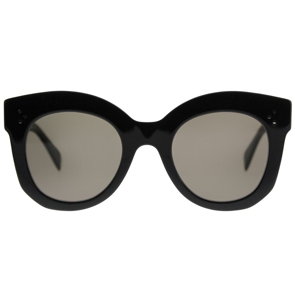 236c9e9b079df Shop Celine Square CL 41443 Chris 06Z 2M Women Black Frame Brown Lens  Sunglasses - Free Shipping Today - Overstock - 19974472