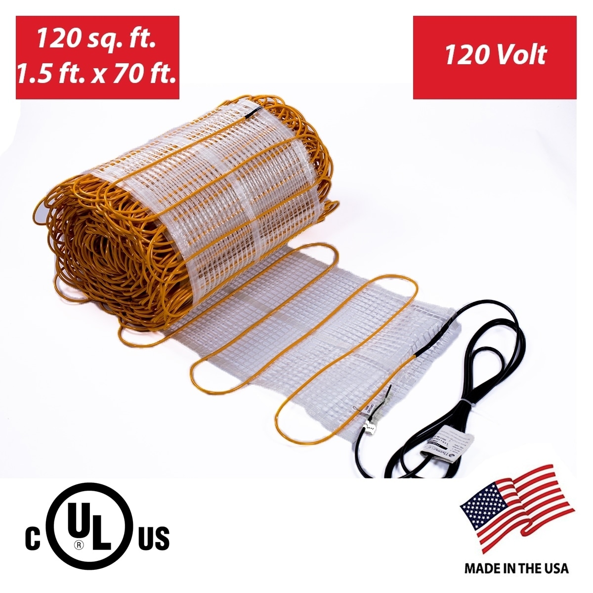 Shop Thermotile In Floor Heating Mat For Ceramic Stone Tile Many