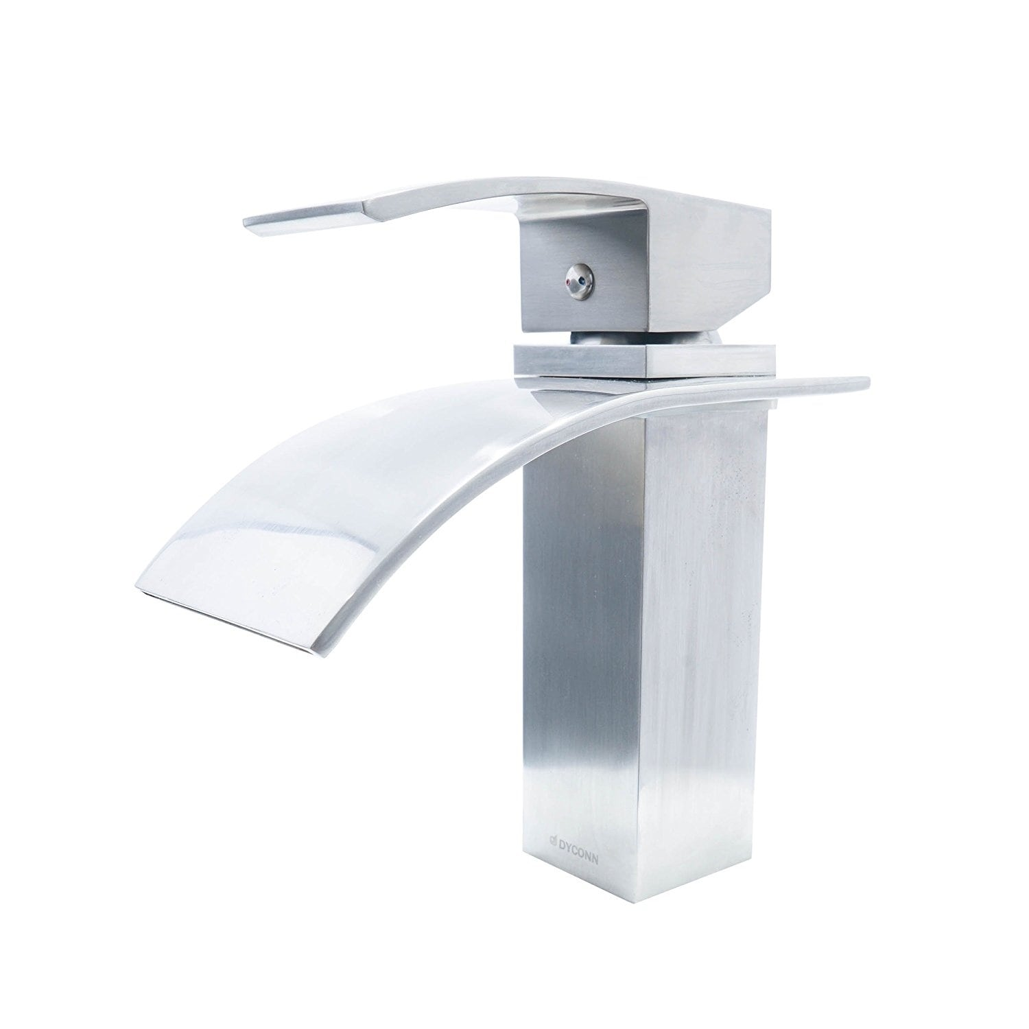 Shop Dyconn Faucet Brushed Nickel Modern Bathroom Faucet - Free ...