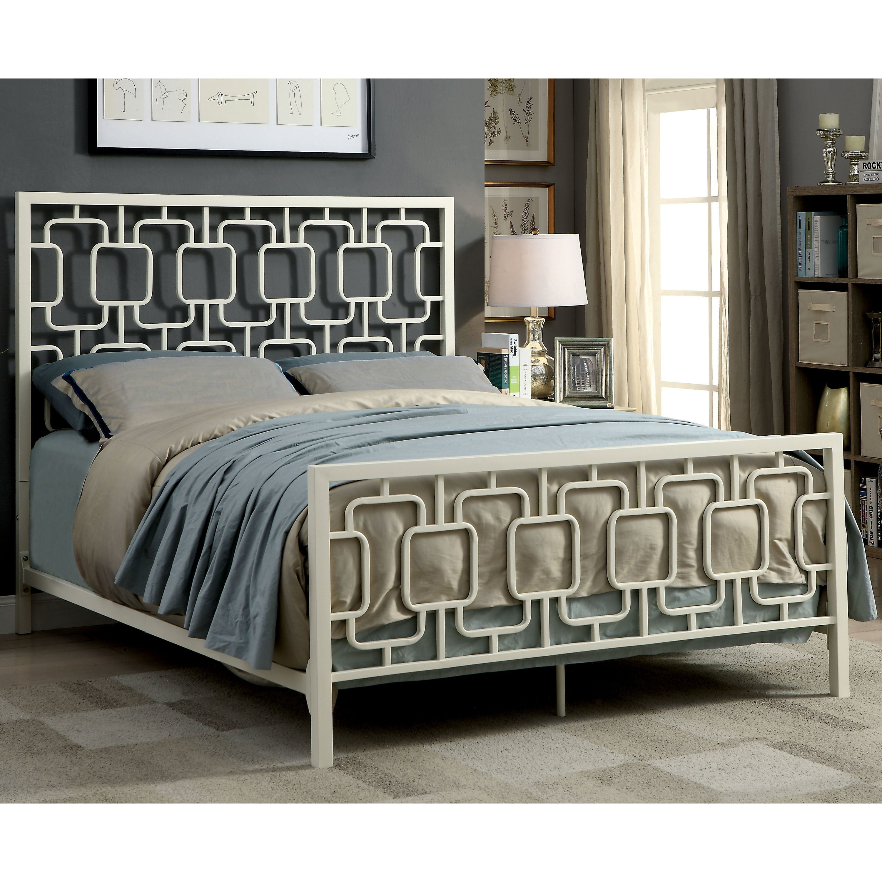 The Curated Nomad Gaviota Contemporary Metal Bed Free Shipping Today 21906850