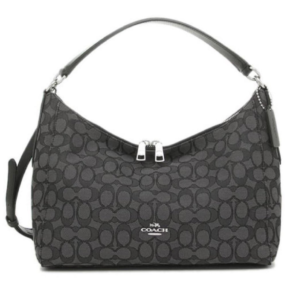 c30c049116b9 Shop Coach 58284 Celeste East West Hobo Bag Black - On Sale - Free Shipping  Today - Overstock - 19978855