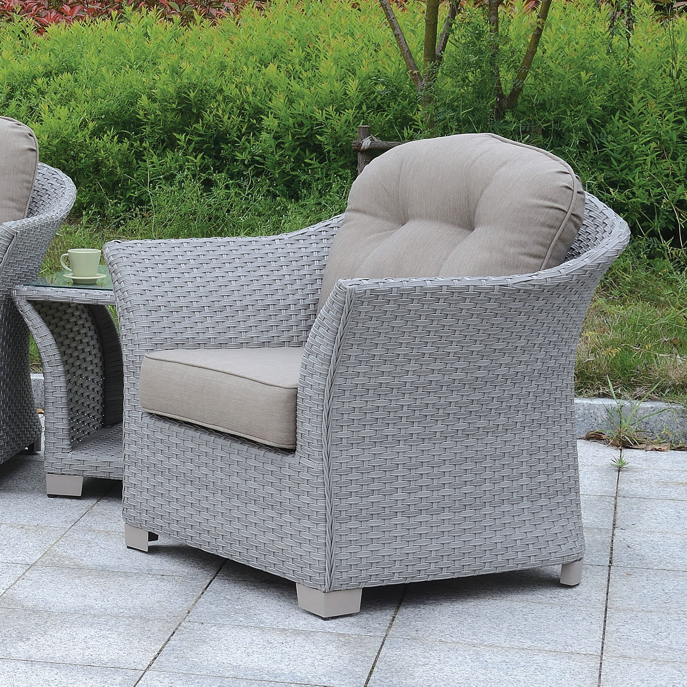Shop Furniture Of America Boise Contemporary Outdoor 6 Piece Patio Set Set    Free Shipping Today   Overstock.com   19983538