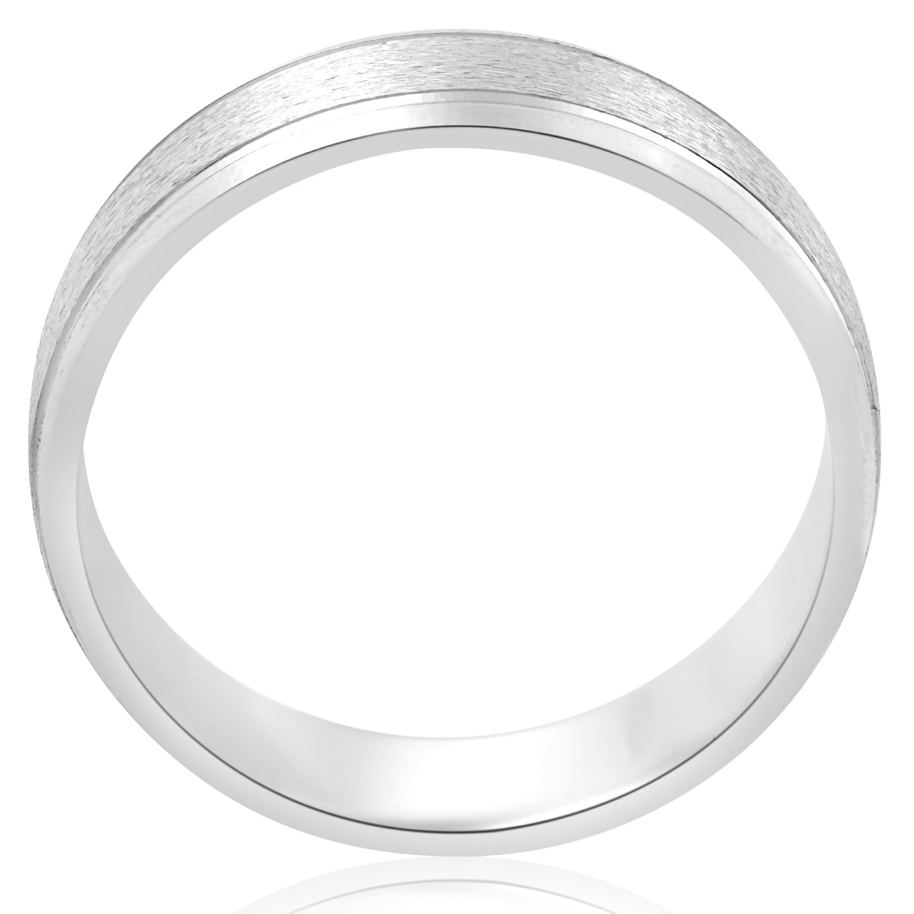 brushed wedding shop ring platinum and amp in for p polished band