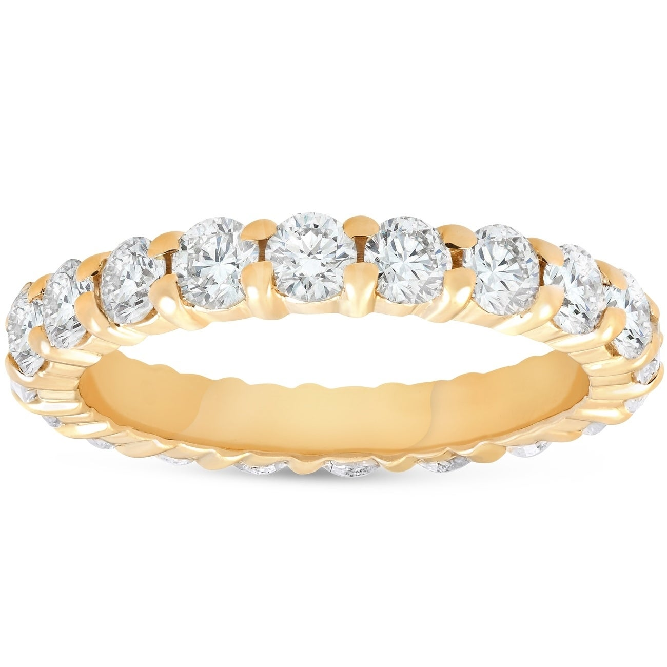 t band gold w bands in anniversary cut ct trillion products two tone diamond carat