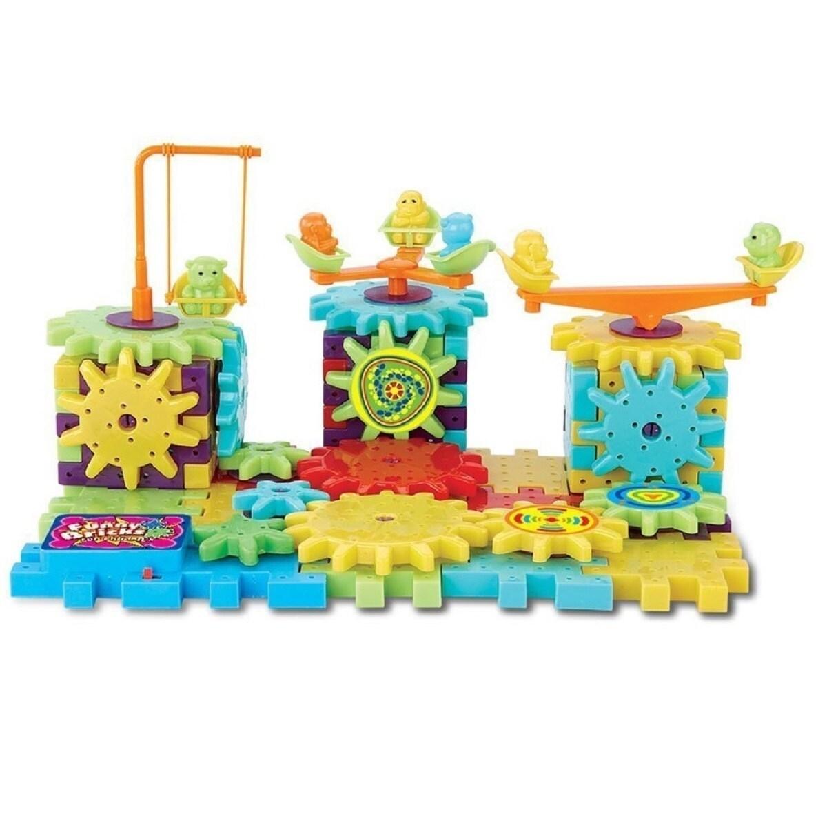 Shop Gears! Gears! Piece Super Building Set 81-Piece Set: IQ Builder ...