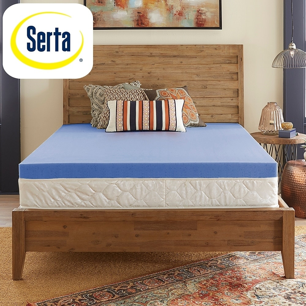 Shop Serta Ultimate Comfort 4 Inch Gel Infused Memory Foam Mattress