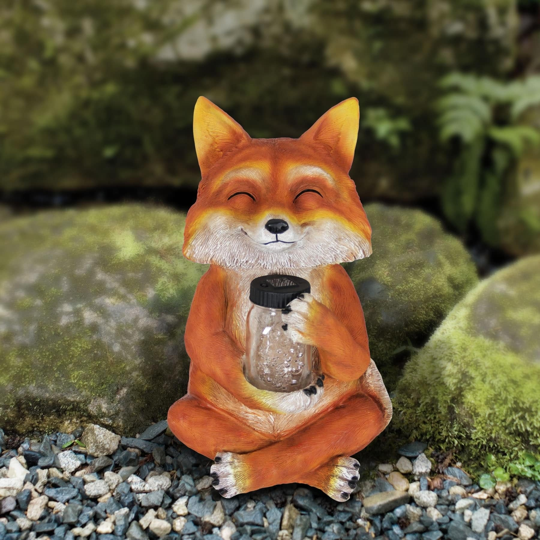 19 Solar Fox With Firefly Jar Free Shipping Today 19994656