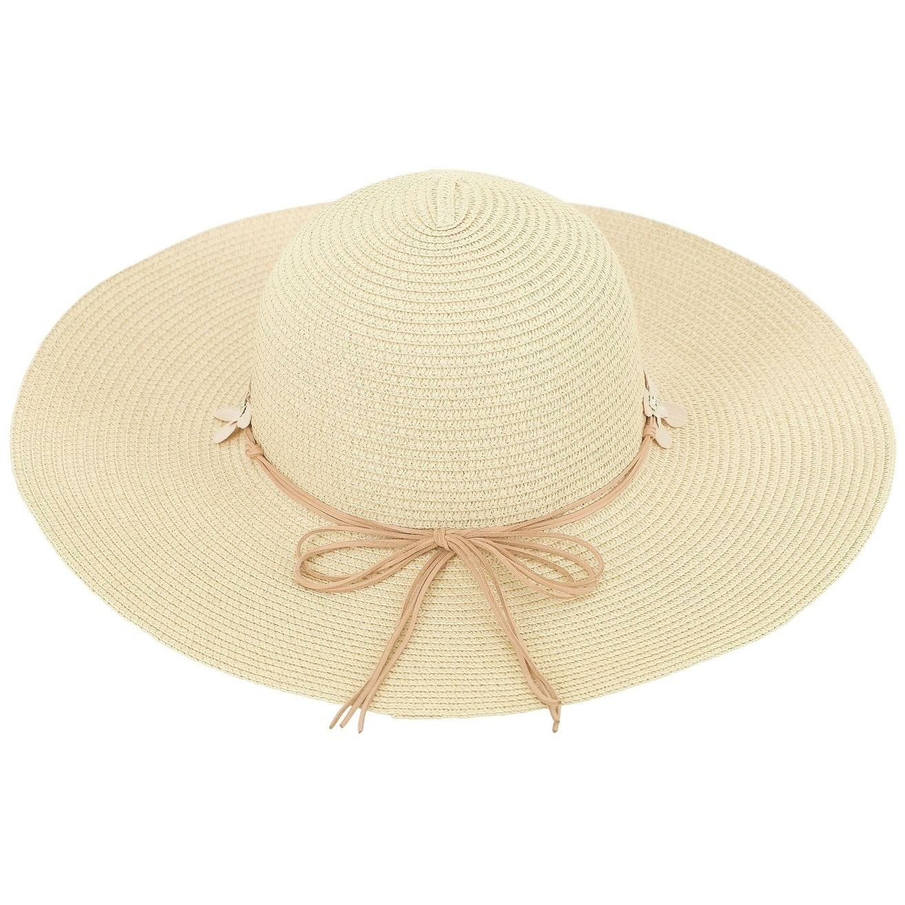 Shop Women s Summer Wide Brim Straw Sun Hat w  Chin Strap 9fc5ac545d6