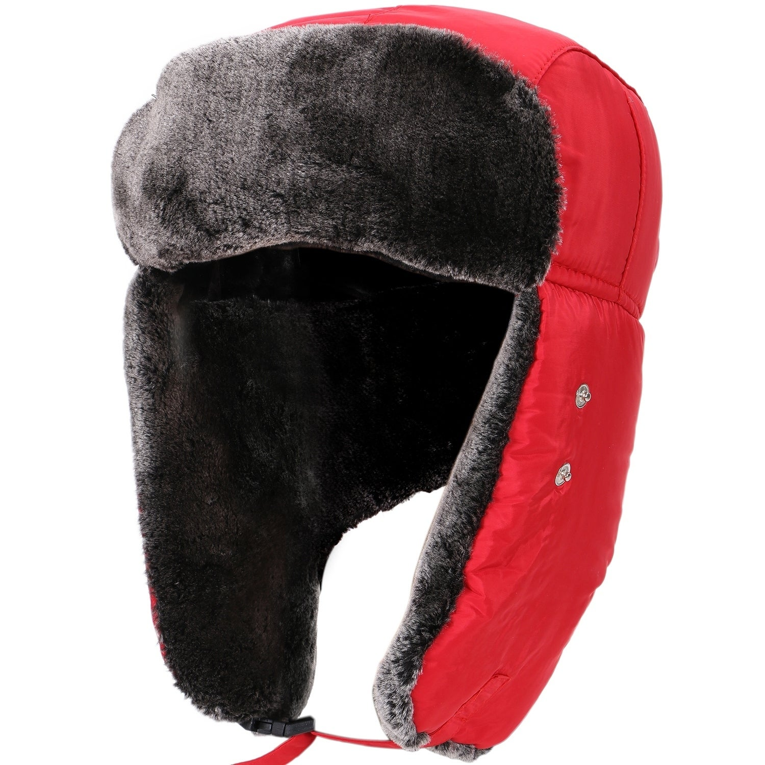 7233ade0a22 Shop Women Men's Weatherproof Faux Fur Lined Trapper Hat w/ Earflaps - On  Sale - Free Shipping On Orders Over $45 - Overstock - 19996291