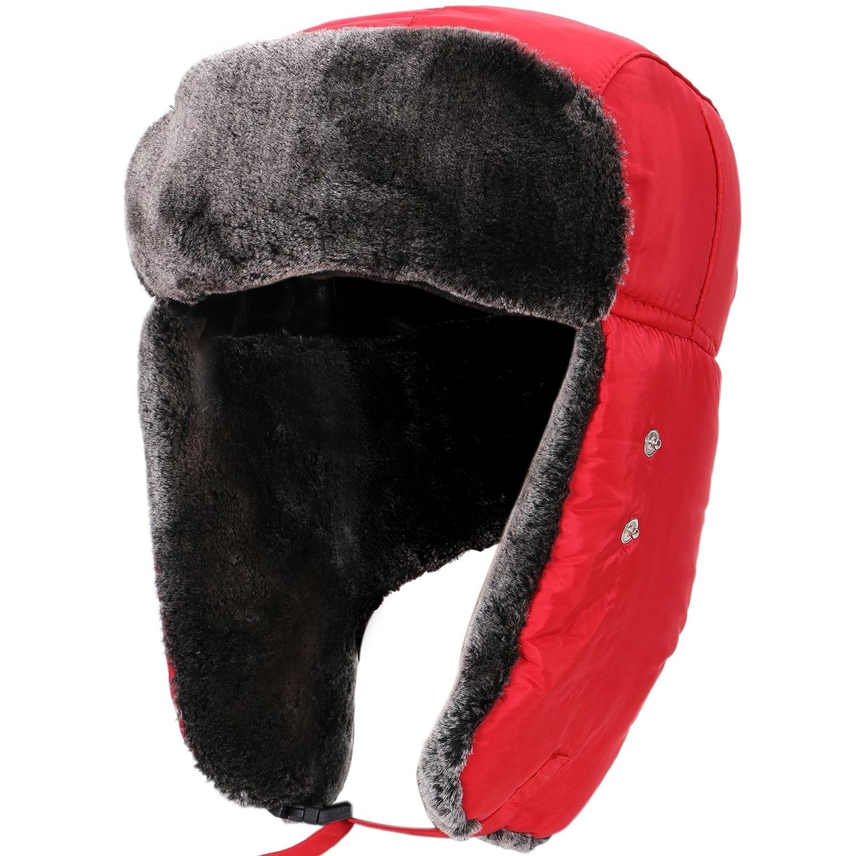 eeb041d1bc2588 Shop Women Men's Weatherproof Faux Fur Lined Trapper Hat w/ Earflaps - On  Sale - Free Shipping On Orders Over $45 - Overstock - 19996291