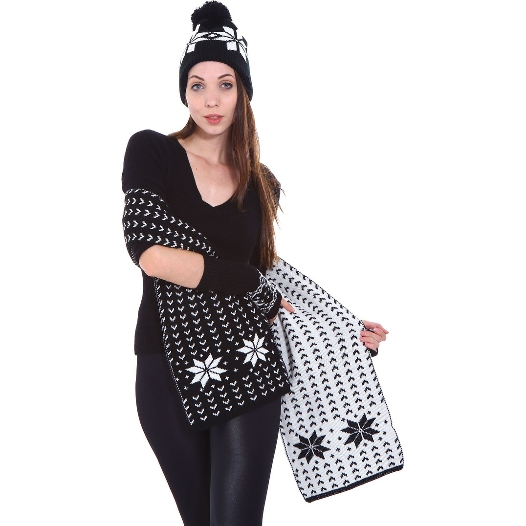 8cf5eb0a040eb Shop Unisex Adult Winter Wholesale Ski Beanie Scarf Gloves Set - On Sale -  Free Shipping On Orders Over  45 - Overstock.com - 19996302