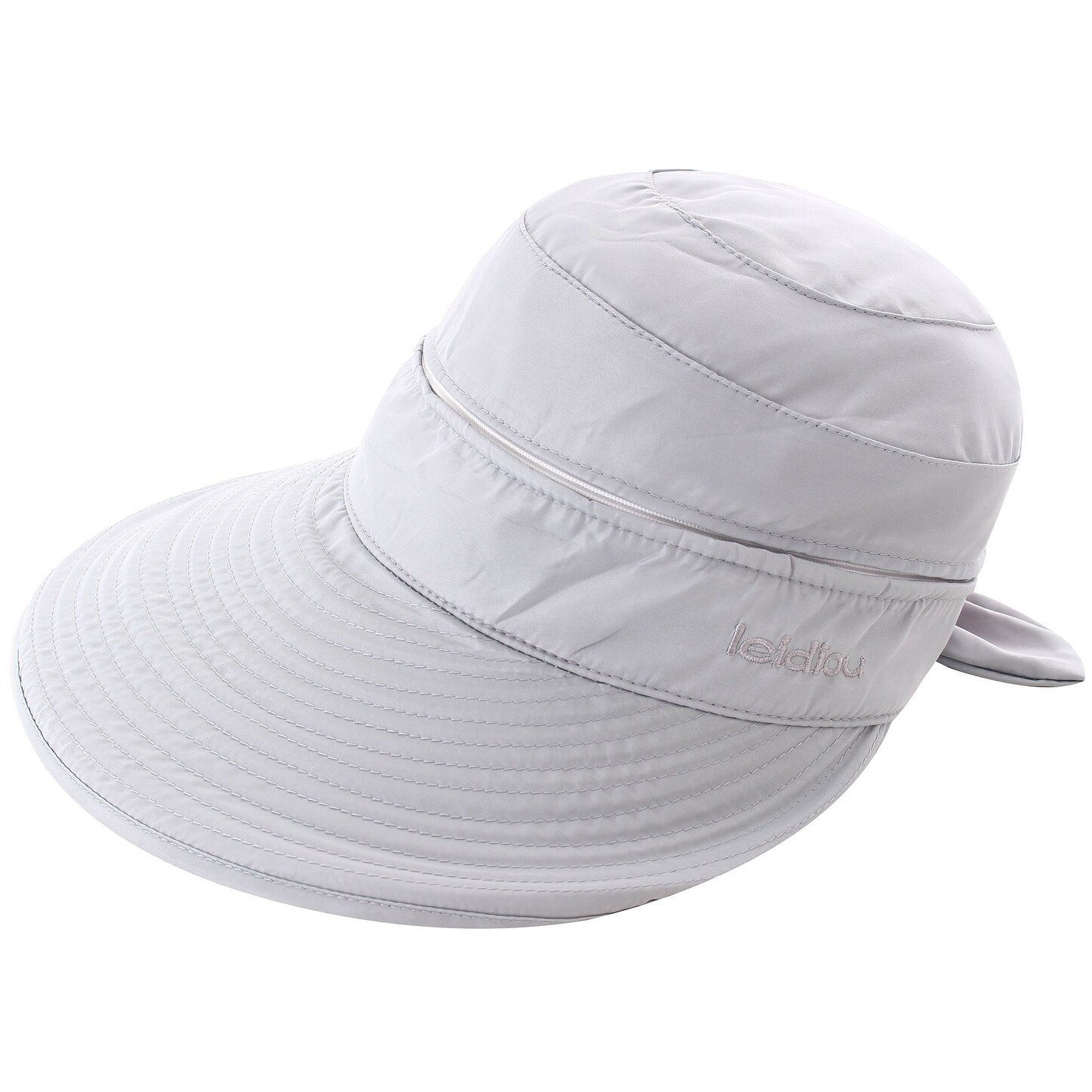 33701315a6b7d Shop Women s UPF 50+ UV Sun Protective Convertible Beach Hat Visor - On  Sale - Free Shipping On Orders Over  45 - Overstock - 19996325