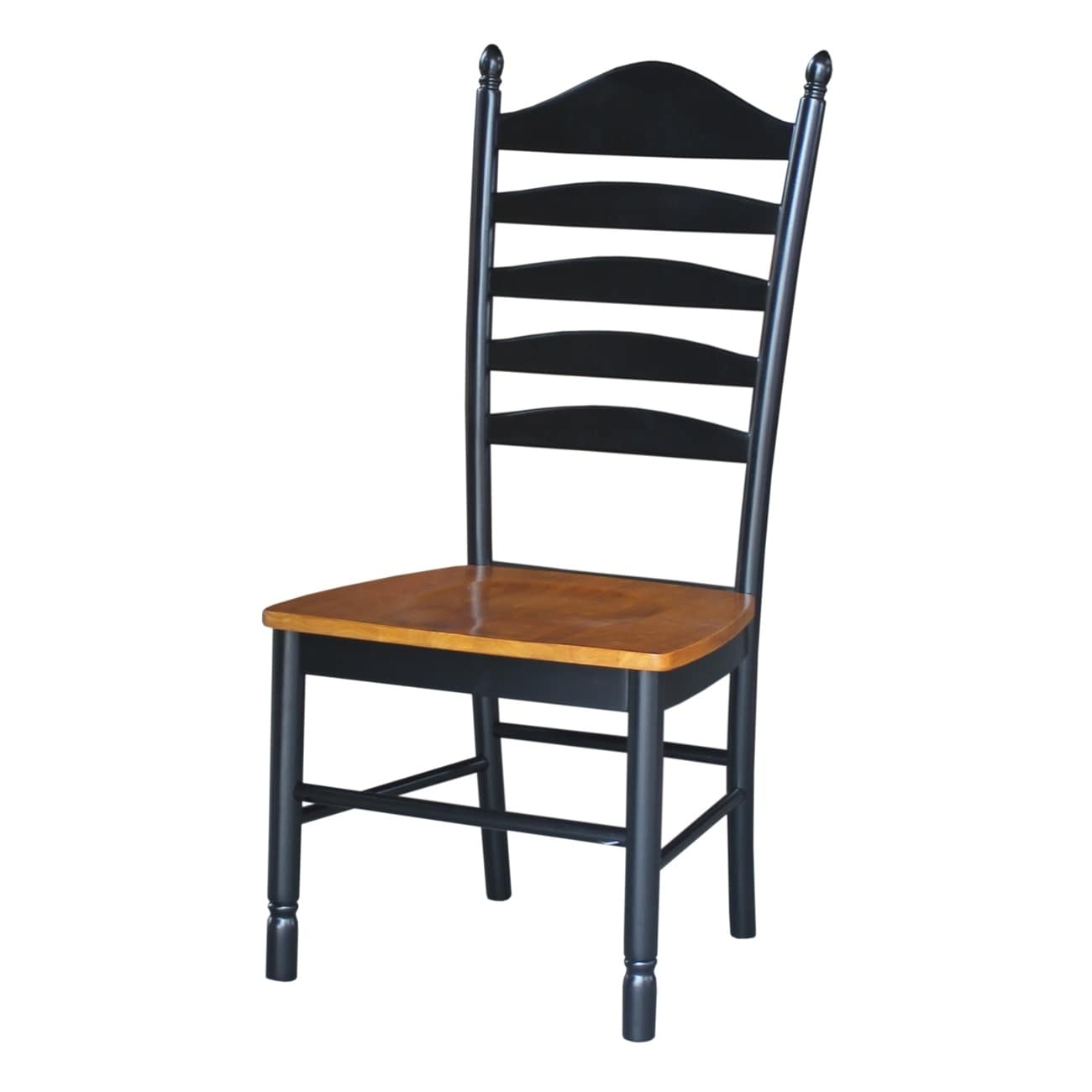 Solid Wood Tall Ladderback Chairs Set Of 2 Free Shipping Today 20000622