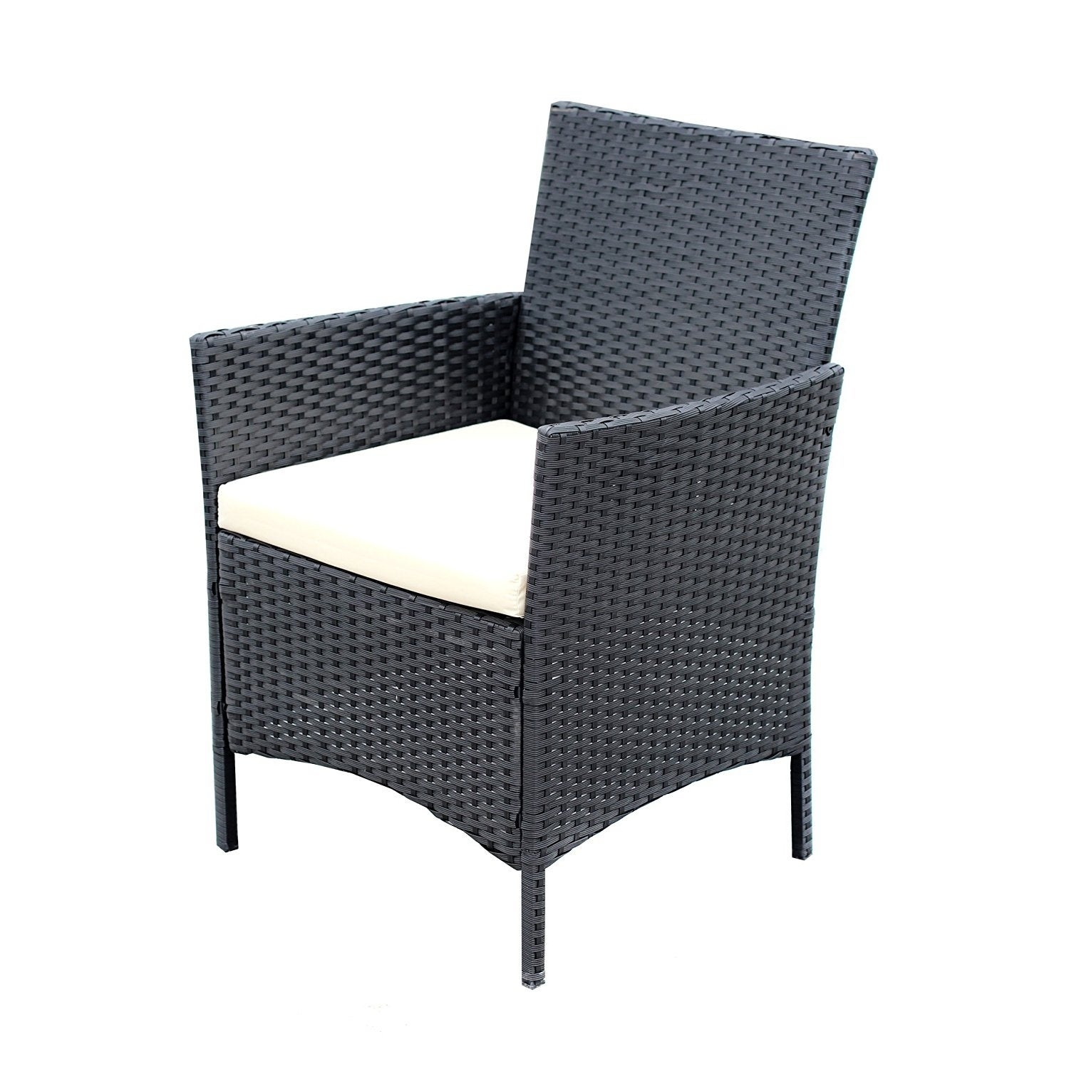 Ids Home 4 Pieces Patio Furniture Set Rattan Wicker Dining Free Shipping Today 20002227