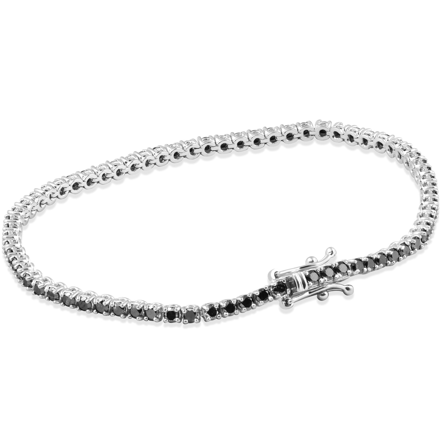 hudson bracelet black jewellery diamond logan fine bangle jan