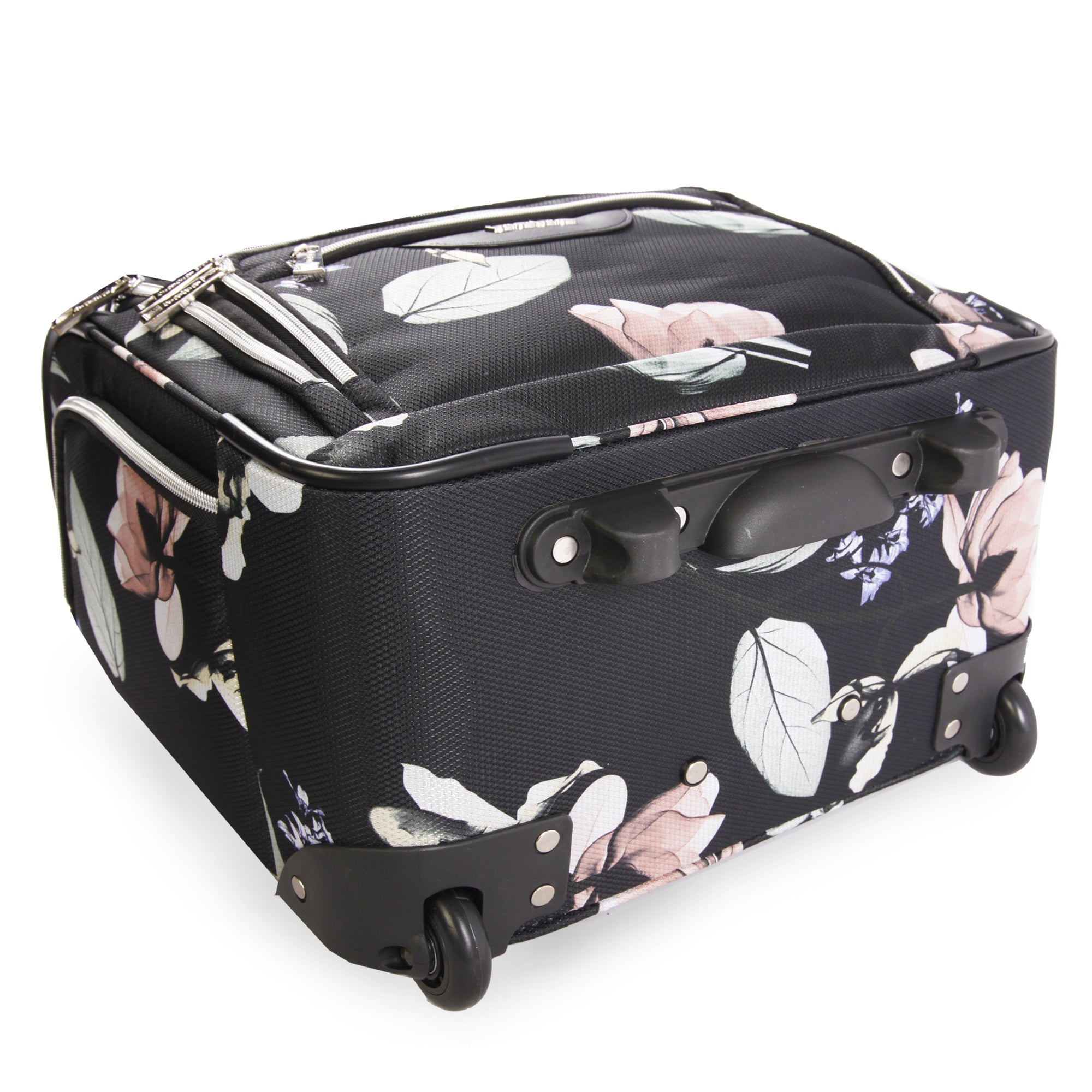 cacdaffc6 Shop Bebe Valentina 16-inch Under the Seat Rolling Carry-On Tote Bag - Free  Shipping Today - Overstock - 20004136