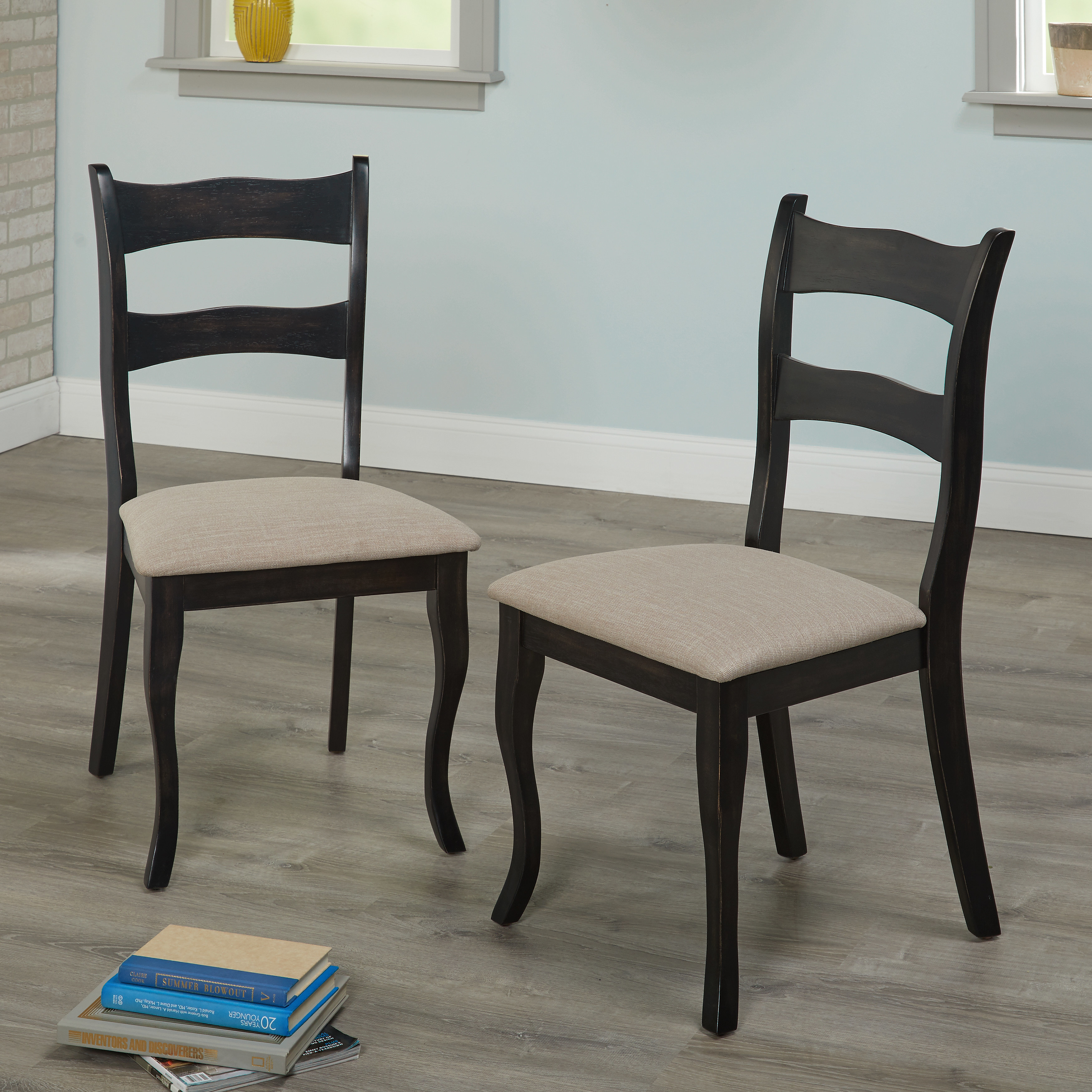 Shop Simple Living Joyce Dining Chairs Set Of 2 Free Shipping