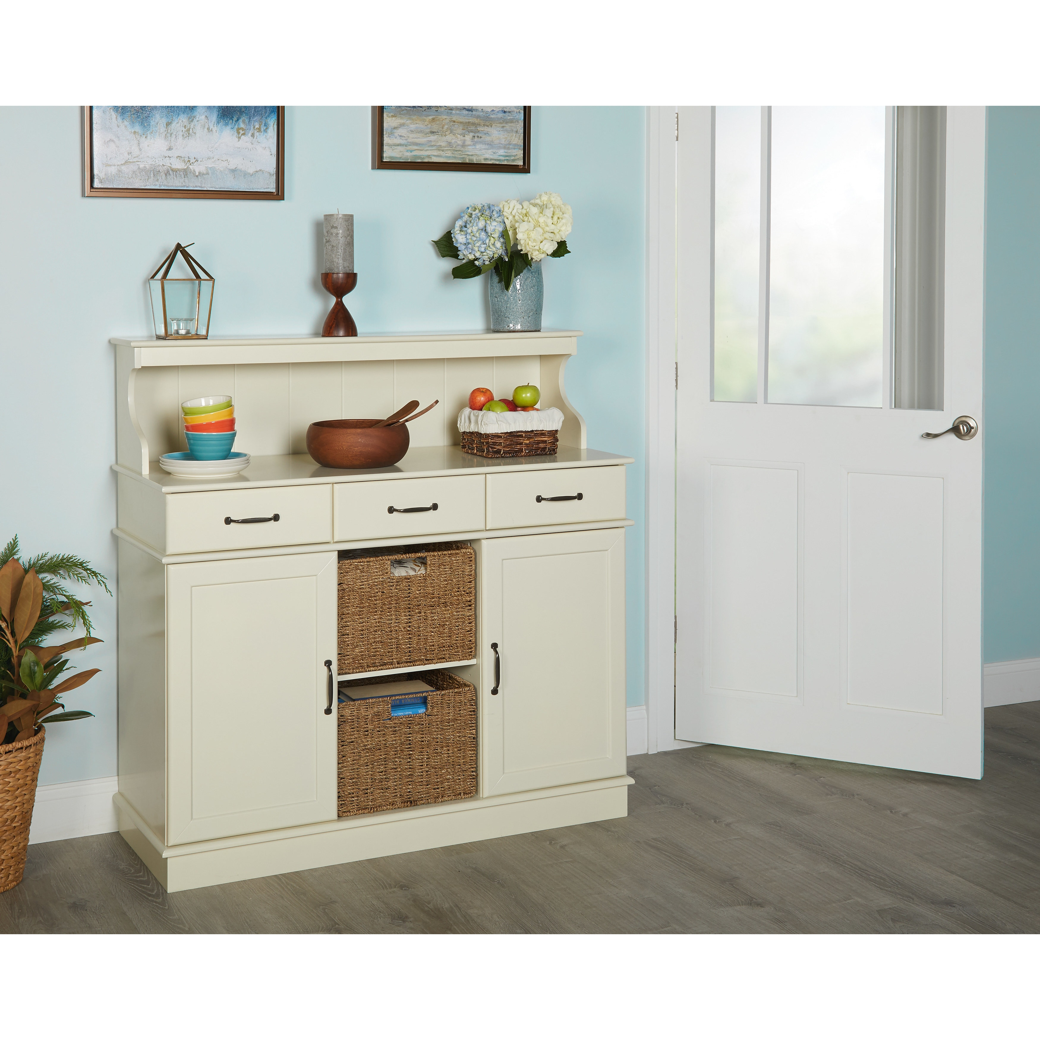 white kitchen buffets hutch pin yourself table hutches projects country from home do and ana it buffet