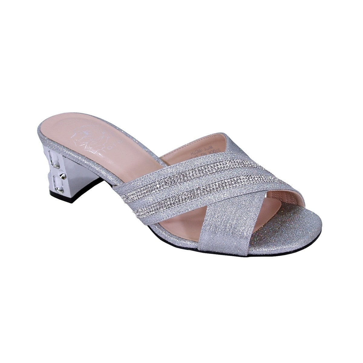 8430d33fa75a Shop FLORAL Kelly Women Extra Wide Width Rhinestone Slip-On Wedge Sandals -  Free Shipping Today - Overstock - 20005013