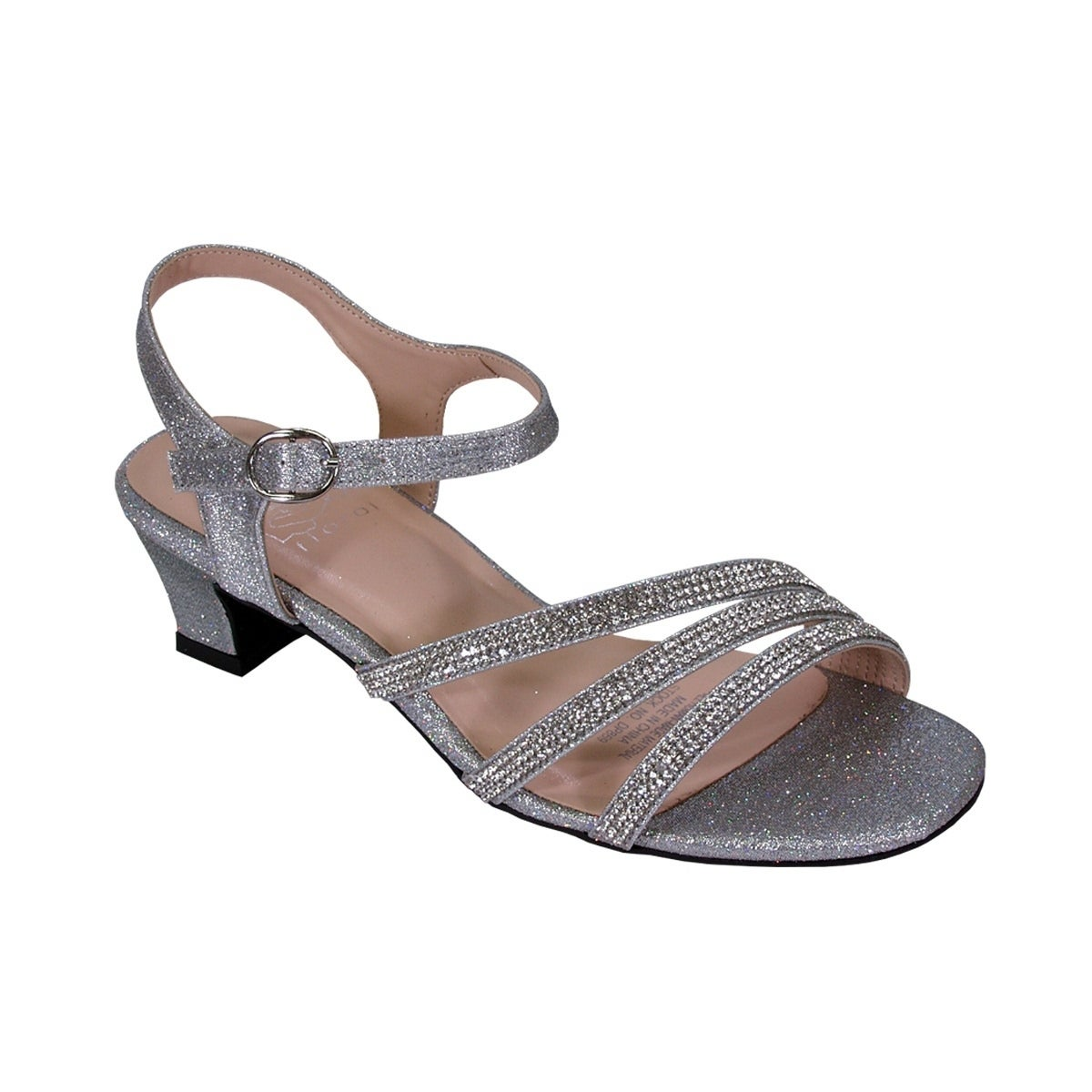d6b5a8b96830 Shop FLORAL Jenna Women Extra Wide Width Glittery Rhinestone Straps Sandals  - Free Shipping Today - Overstock - 20005084