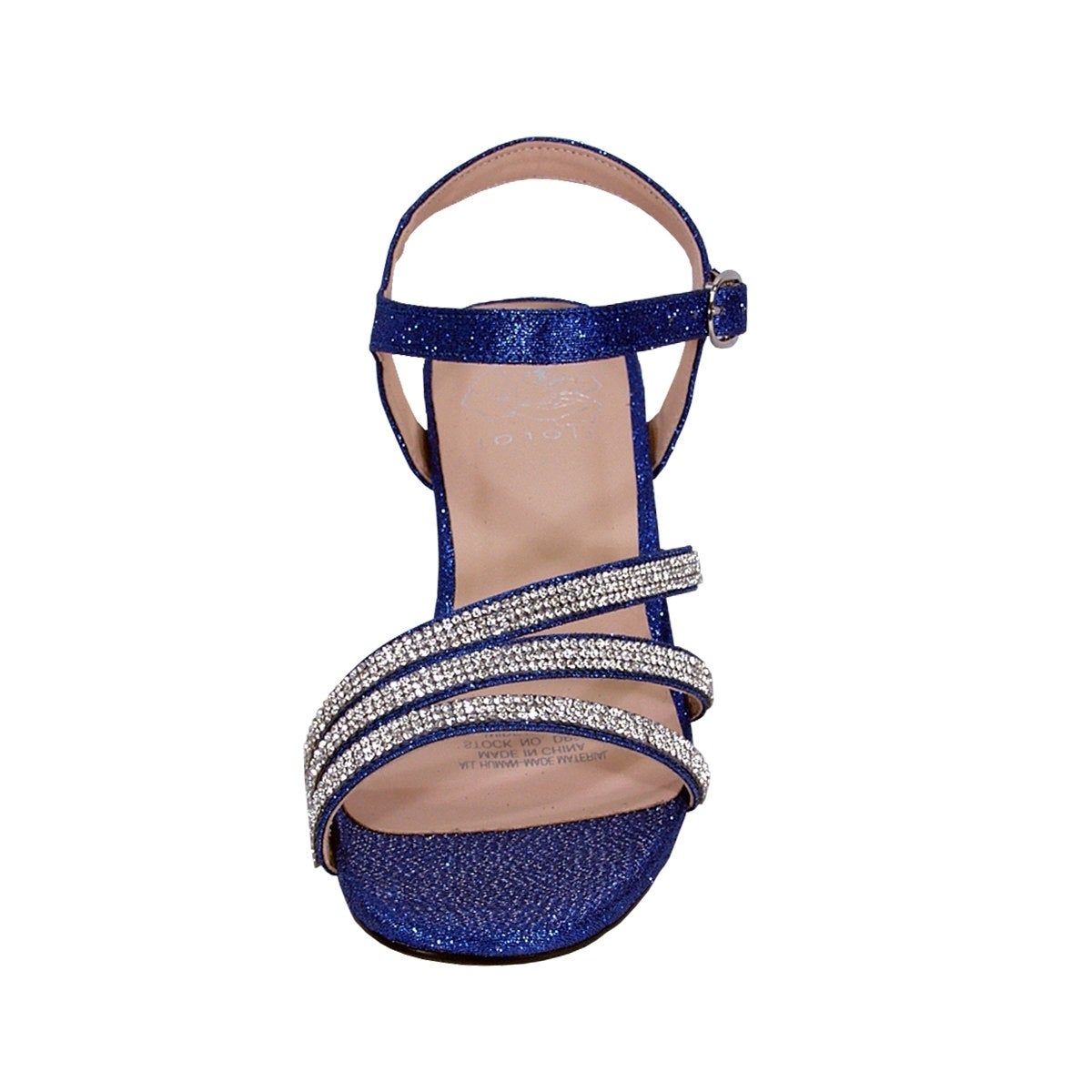 00fdc132bc50b4 Shop FLORAL Jenna Women Extra Wide Width Glittery Rhinestone Straps Sandals  - Free Shipping Today - Overstock - 20005084