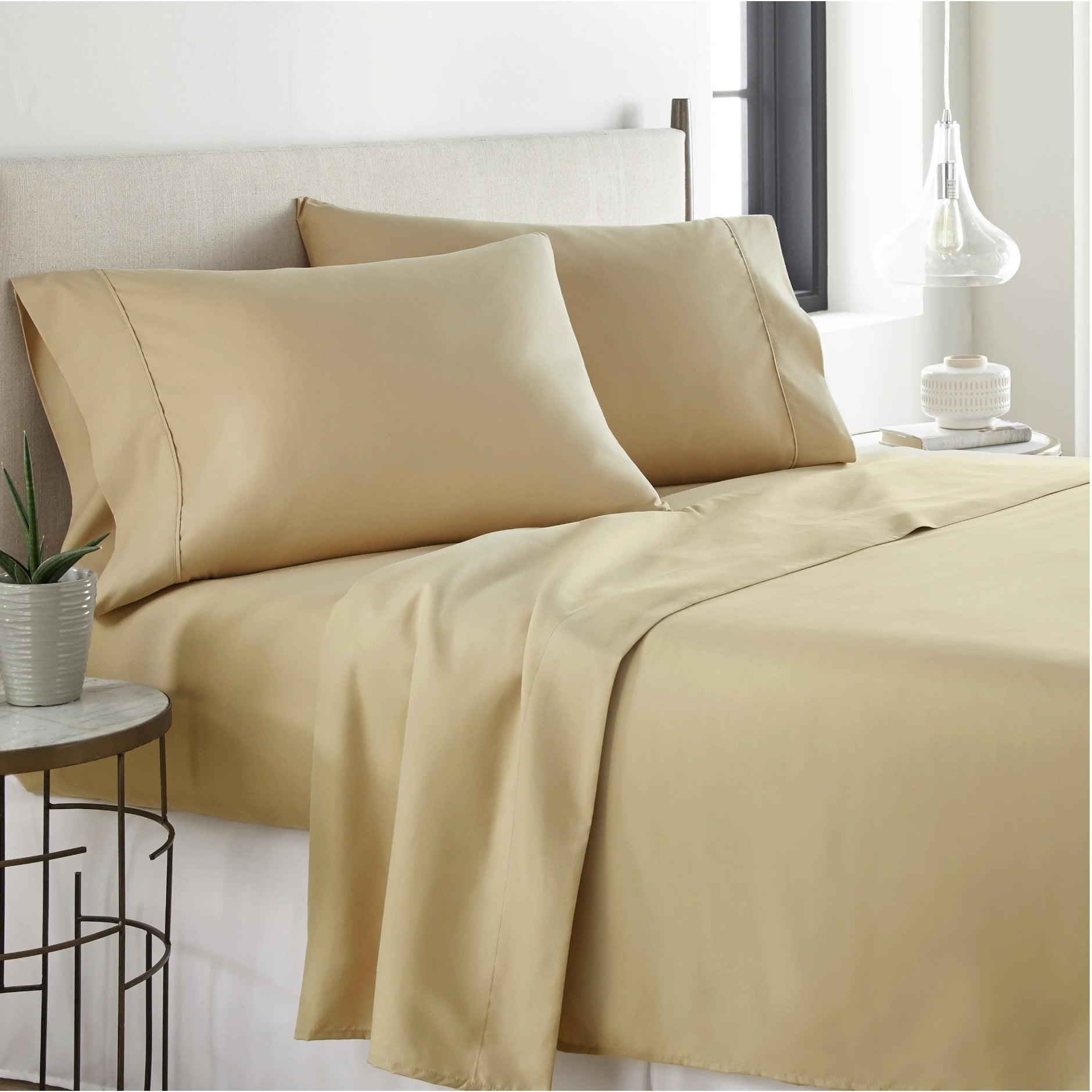 Hotel Luxury Bed Sheets Set 1800 Series Platinum Collection Deep Pockets Wrinkle Fade Resistant Top Quality Soft Bedding Free Shipping On Orders