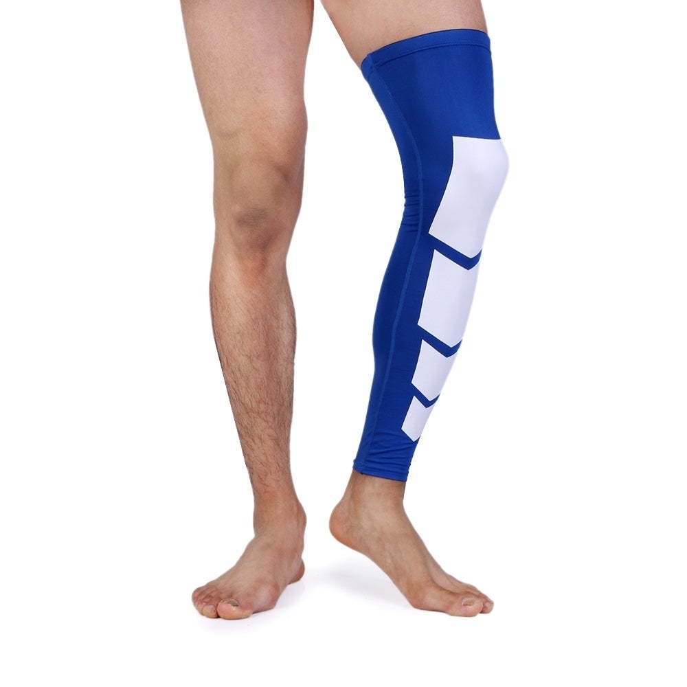 d86a8d2112 Shop Unisex Full-Length Knee and Calf Compression Sleeves (2-Pack) - Free  Shipping On Orders Over $45 - Overstock - 20010584