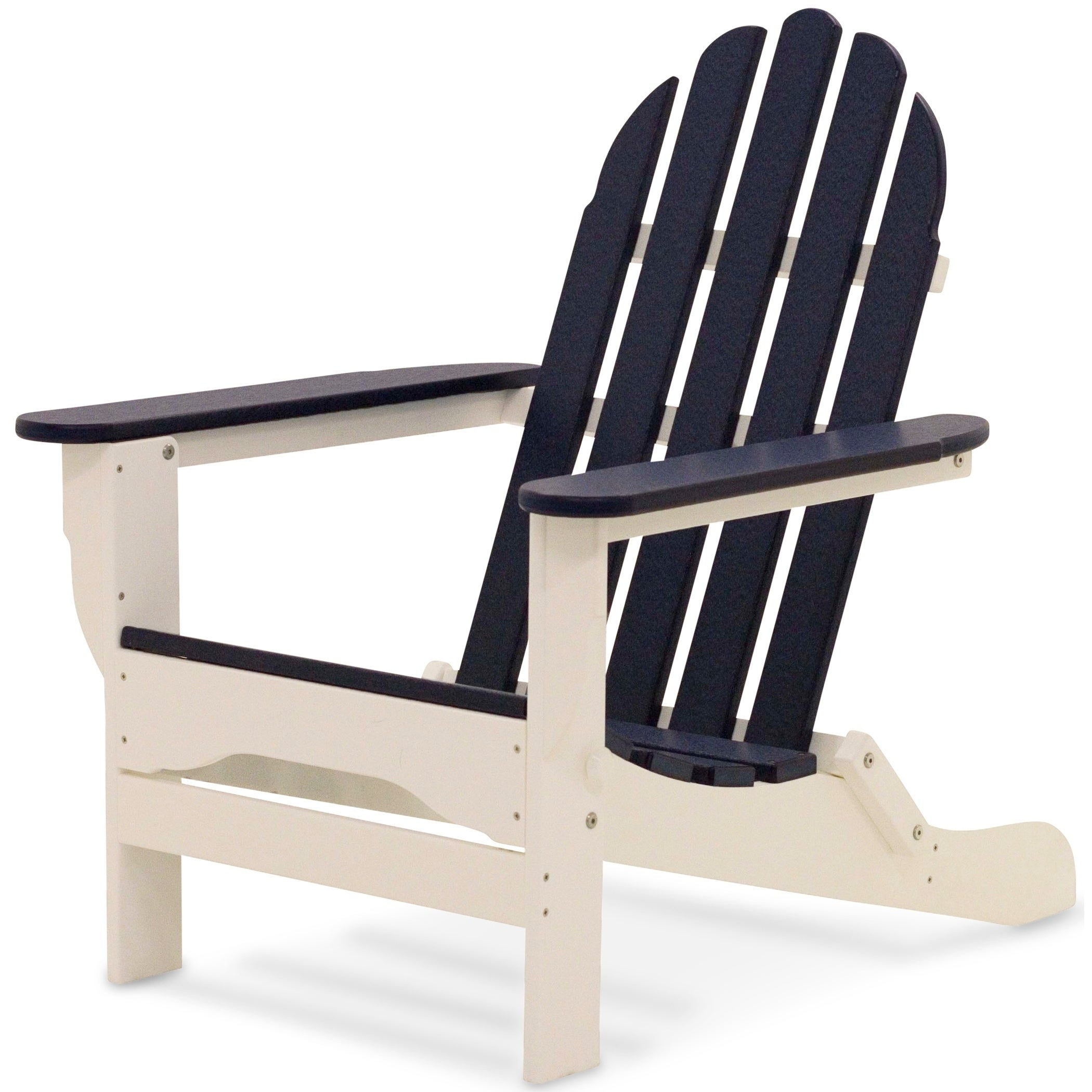 Charming DuroGreen All Weather Adirondack Chair   Free Shipping Today   Overstock    25928776
