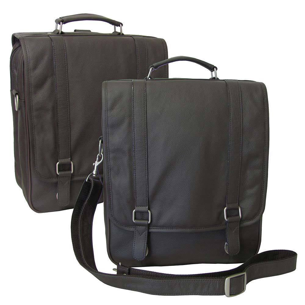 Amerileather Leather Backpack Briefcase - Free Shipping Today ...