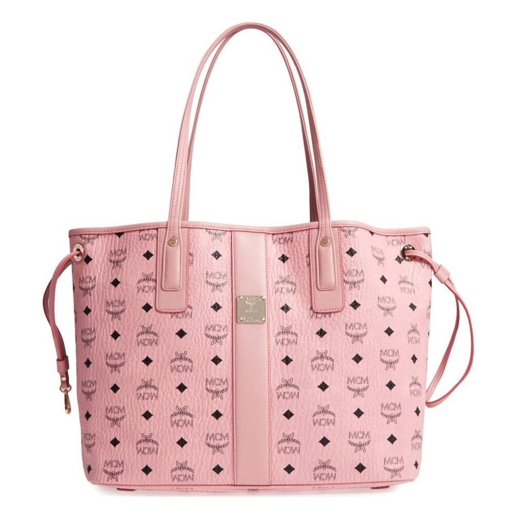 Mcm Liz Reversible Medium Pink Tote Bag Free Shipping Today 20025574