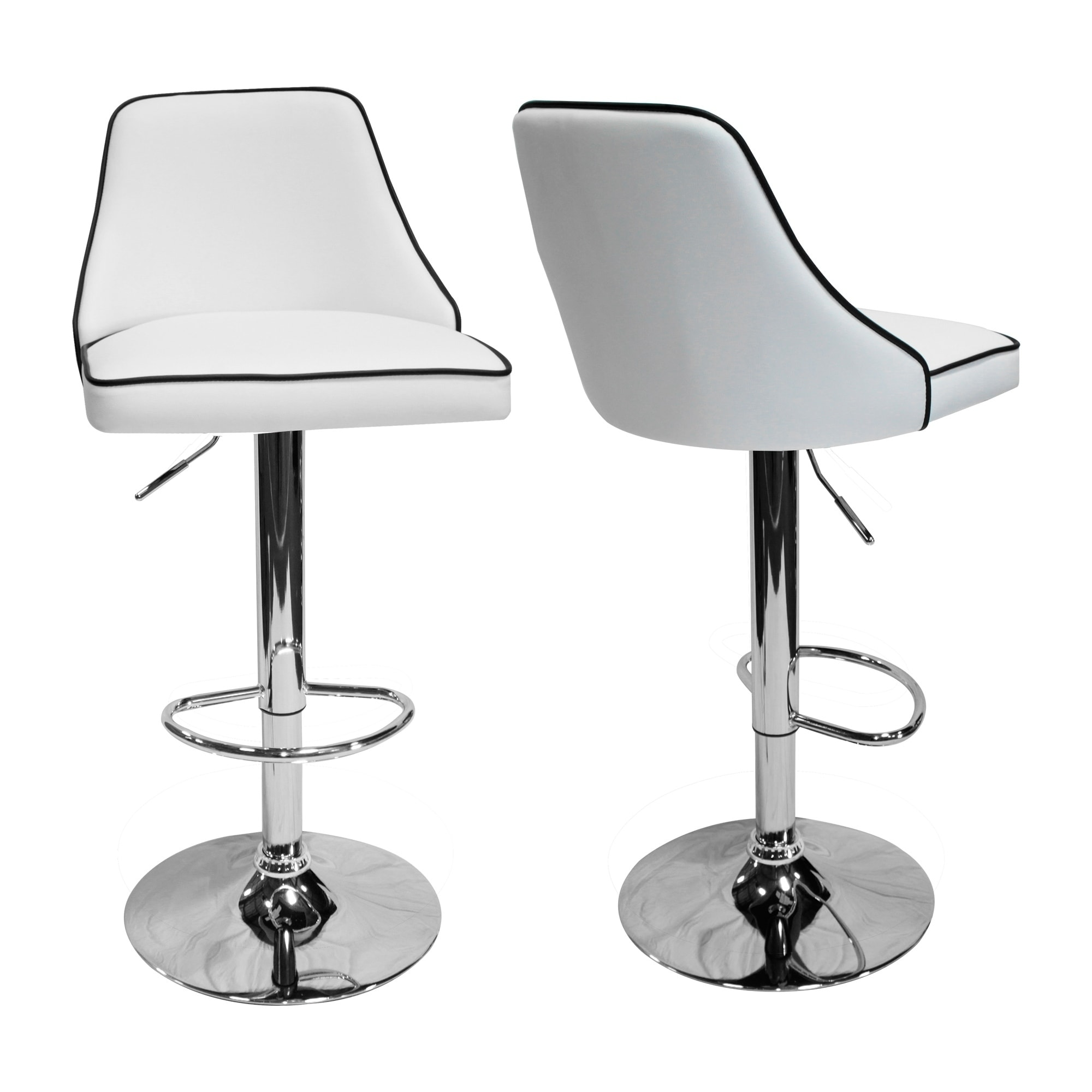 Best Master Furniture HY6332 Adjustable Swivel Bar Stools (Set Of 2)   Free  Shipping Today   Overstock   25935331