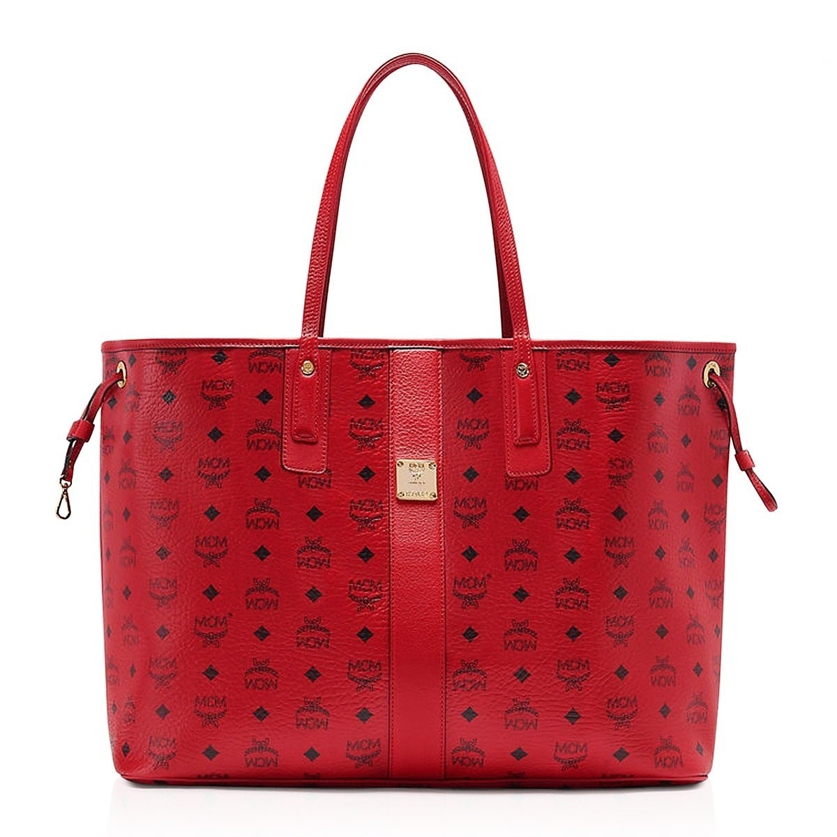 Mcm Liz Reversible Large Ruby Red Tote Bag Free Shipping Today 20027297