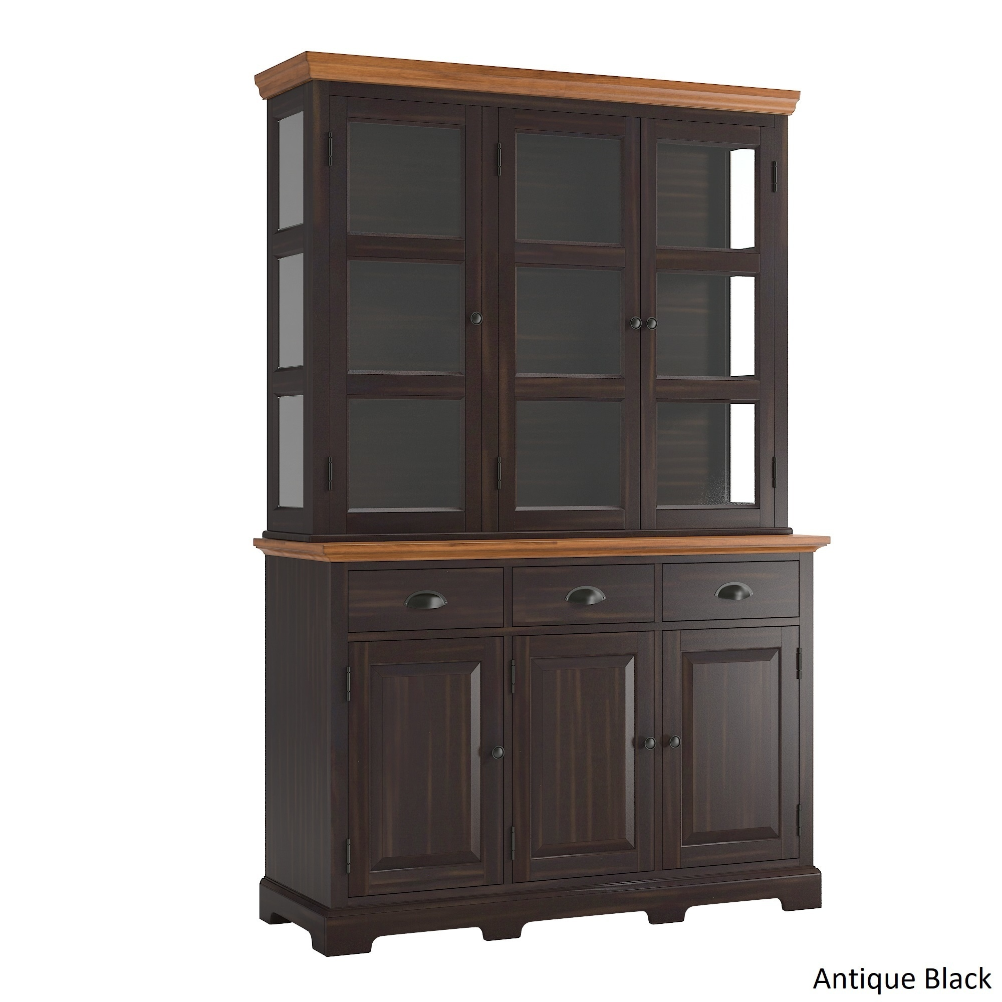 Eleanor Two Tone Wood Buffet Server And Hutch By Inspire Q Clic Free Shipping Today 20061782